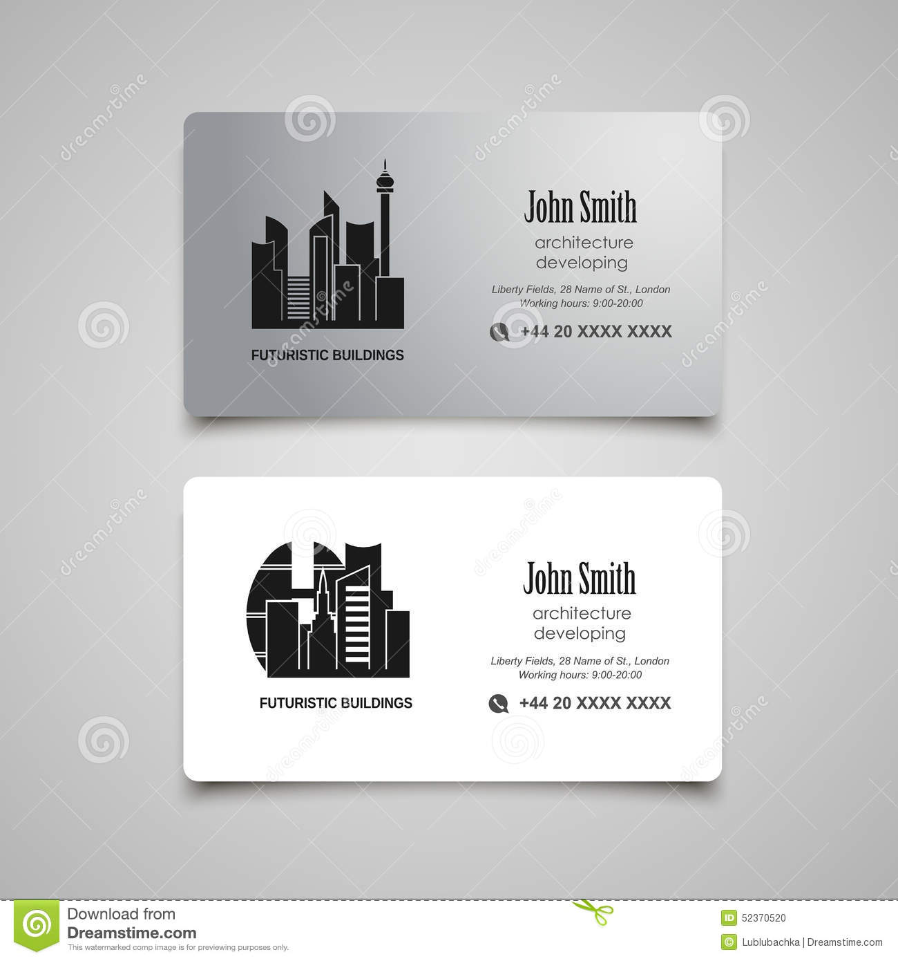 set a5 a4 rent a car business flyer template auto service architecture developing or rent business card vector template stock photo