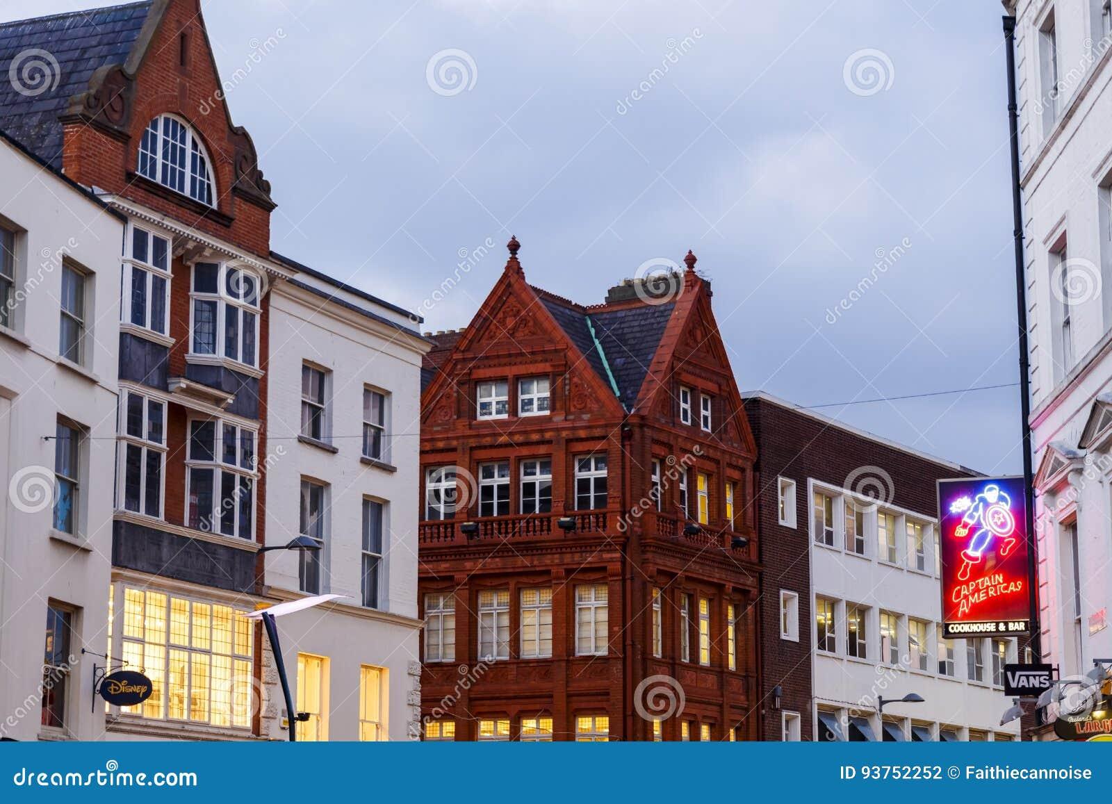 412bc09938 Architecture In Dublin`s City Centre In Grafton Street Editorial ...