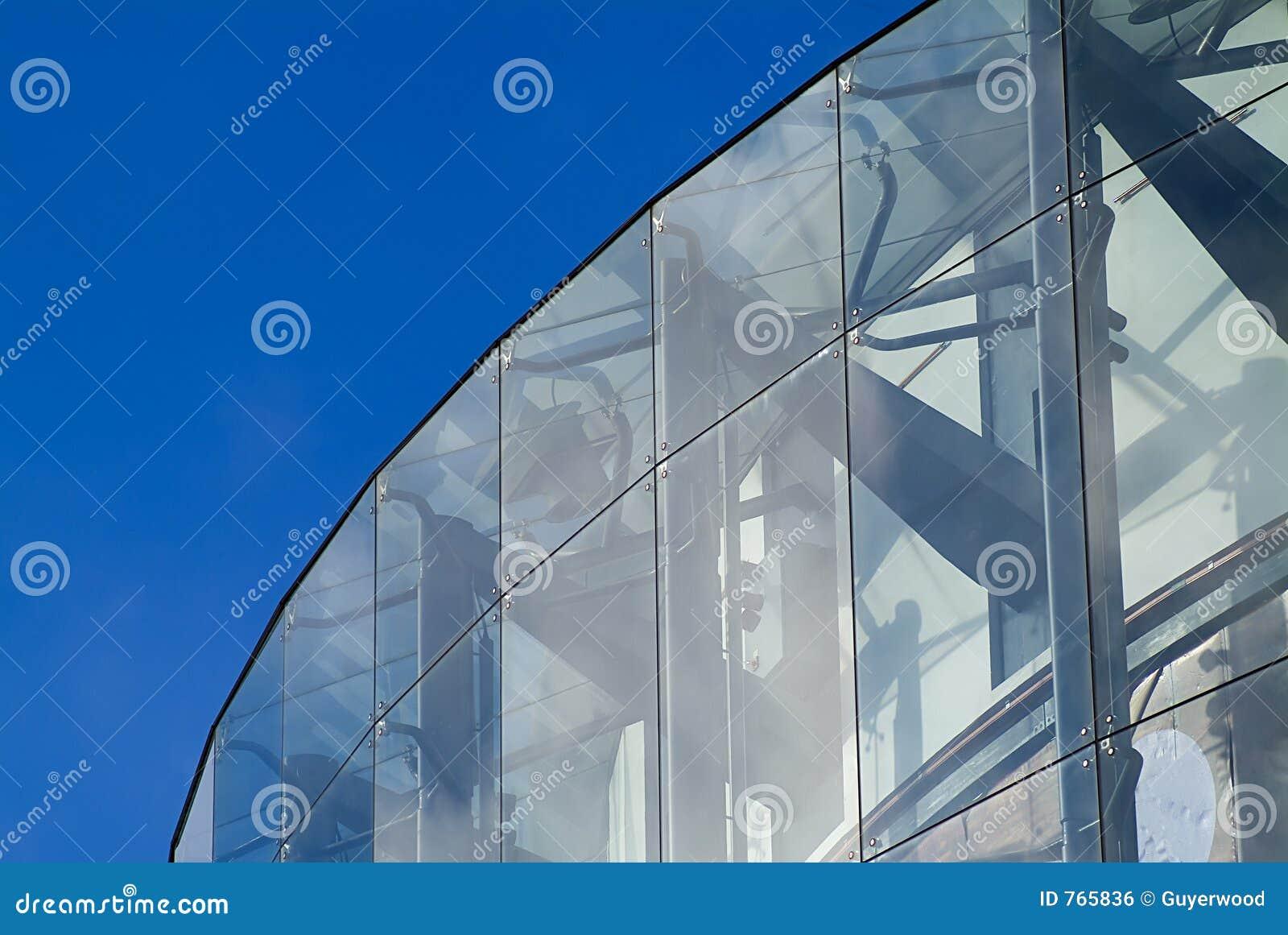 architecture en verre image libre de droits image 765836. Black Bedroom Furniture Sets. Home Design Ideas