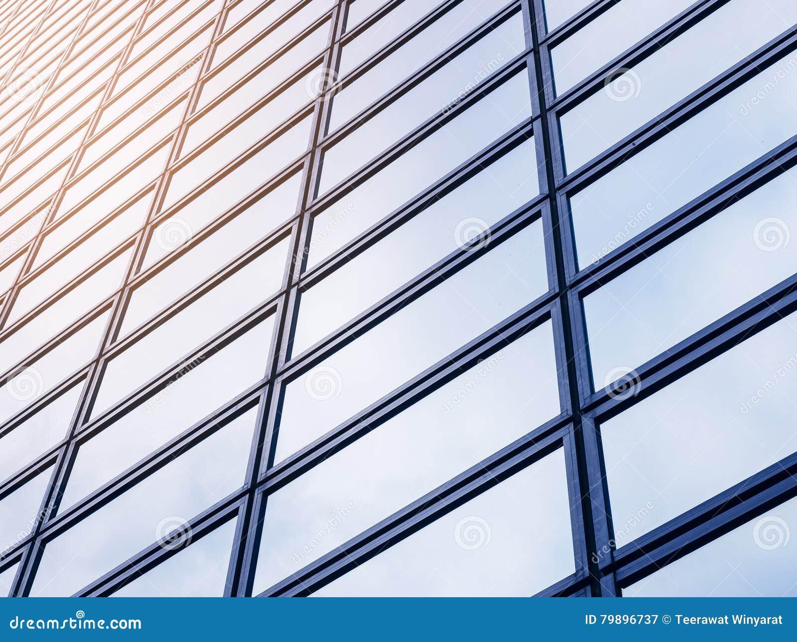 Architecture en verre en acier d 39 ext rieur de fa ade de Architecture en verre