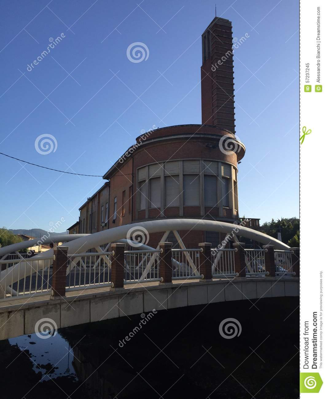 Architecture fasciste italienne image stock image 57237245 for Architecture italienne