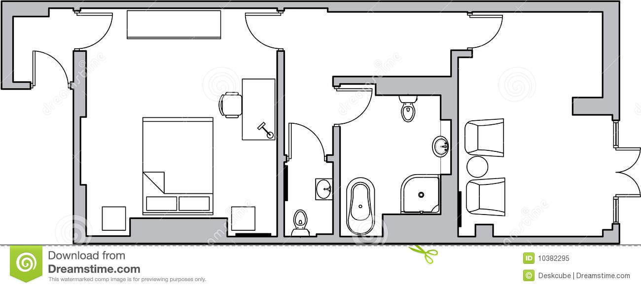 architecture floor plan - Bathroom Plans Free
