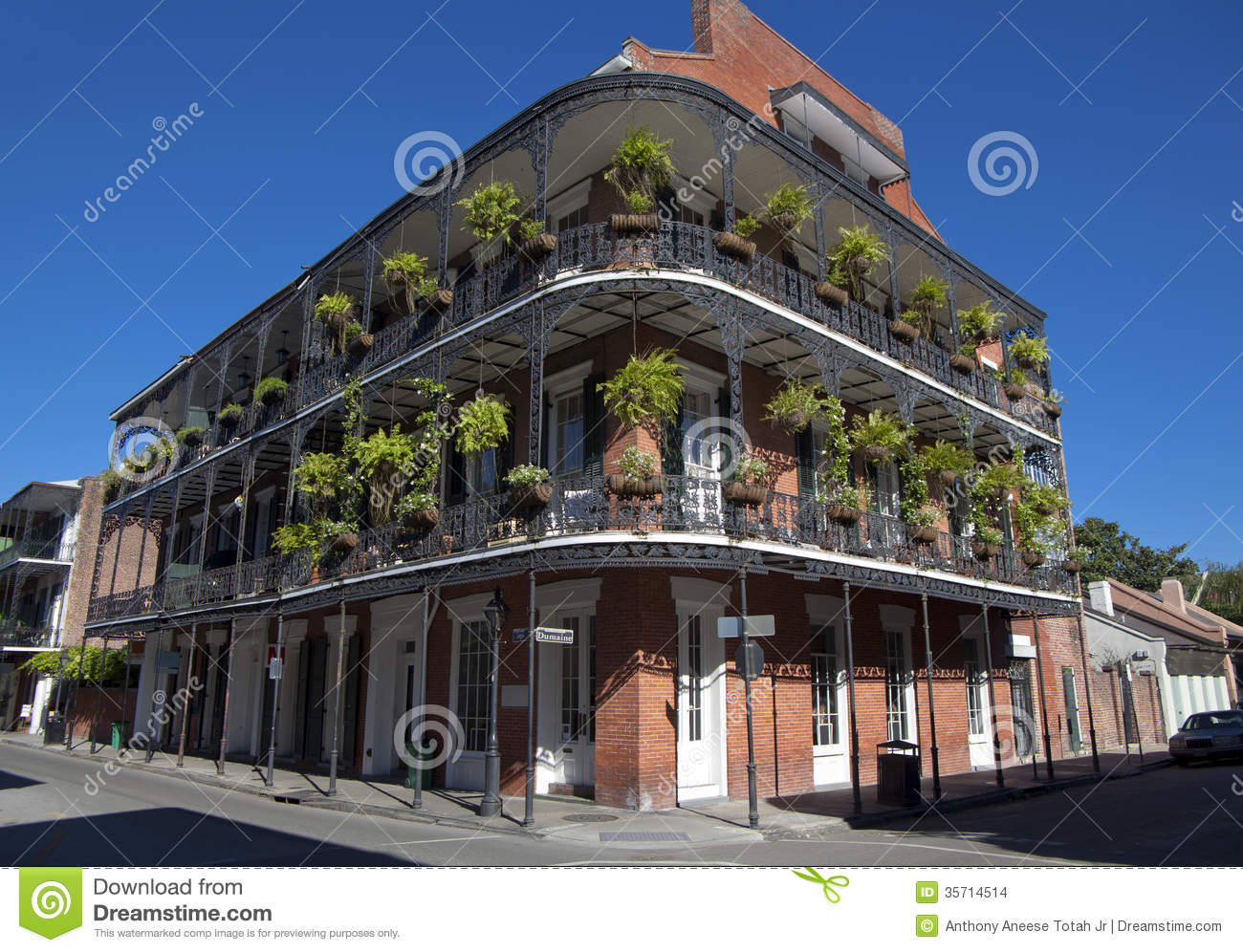 Architecture French Quarter New Orleans Stock Images Image 35714514