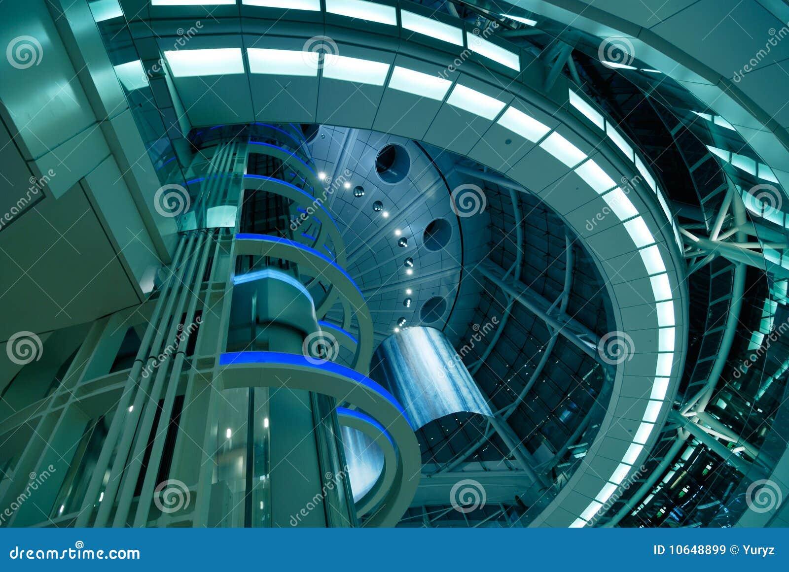 architecture futuriste images libres de droits image 10648899. Black Bedroom Furniture Sets. Home Design Ideas