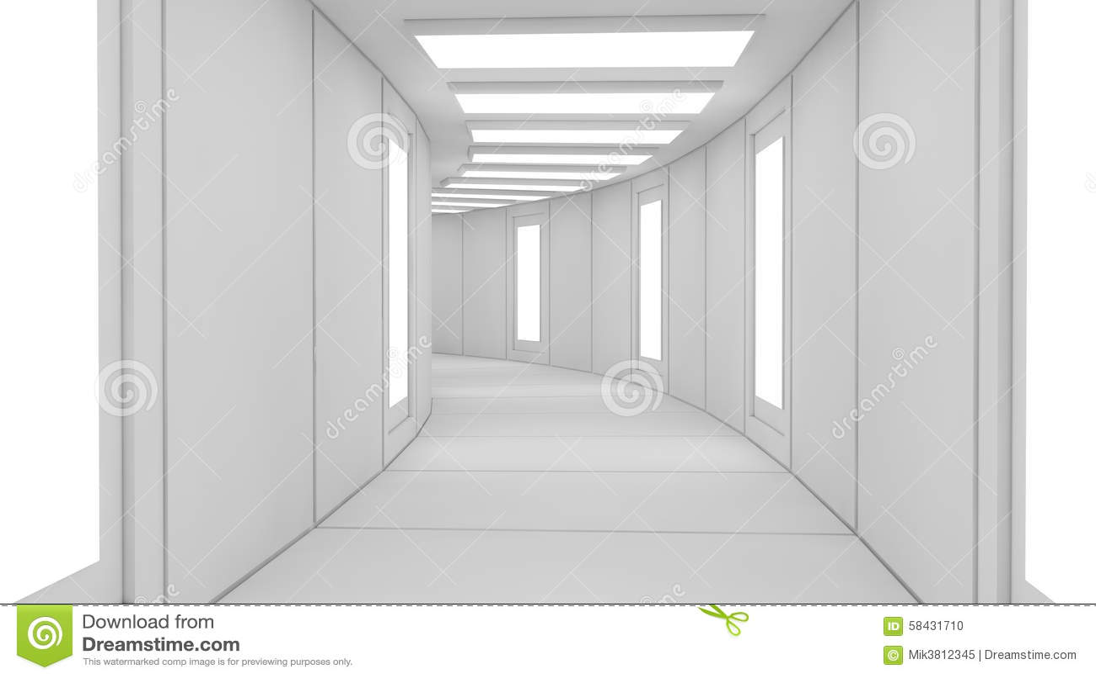 architecture futuriste d 39 int rieur de technologie photo stock image 58431710. Black Bedroom Furniture Sets. Home Design Ideas