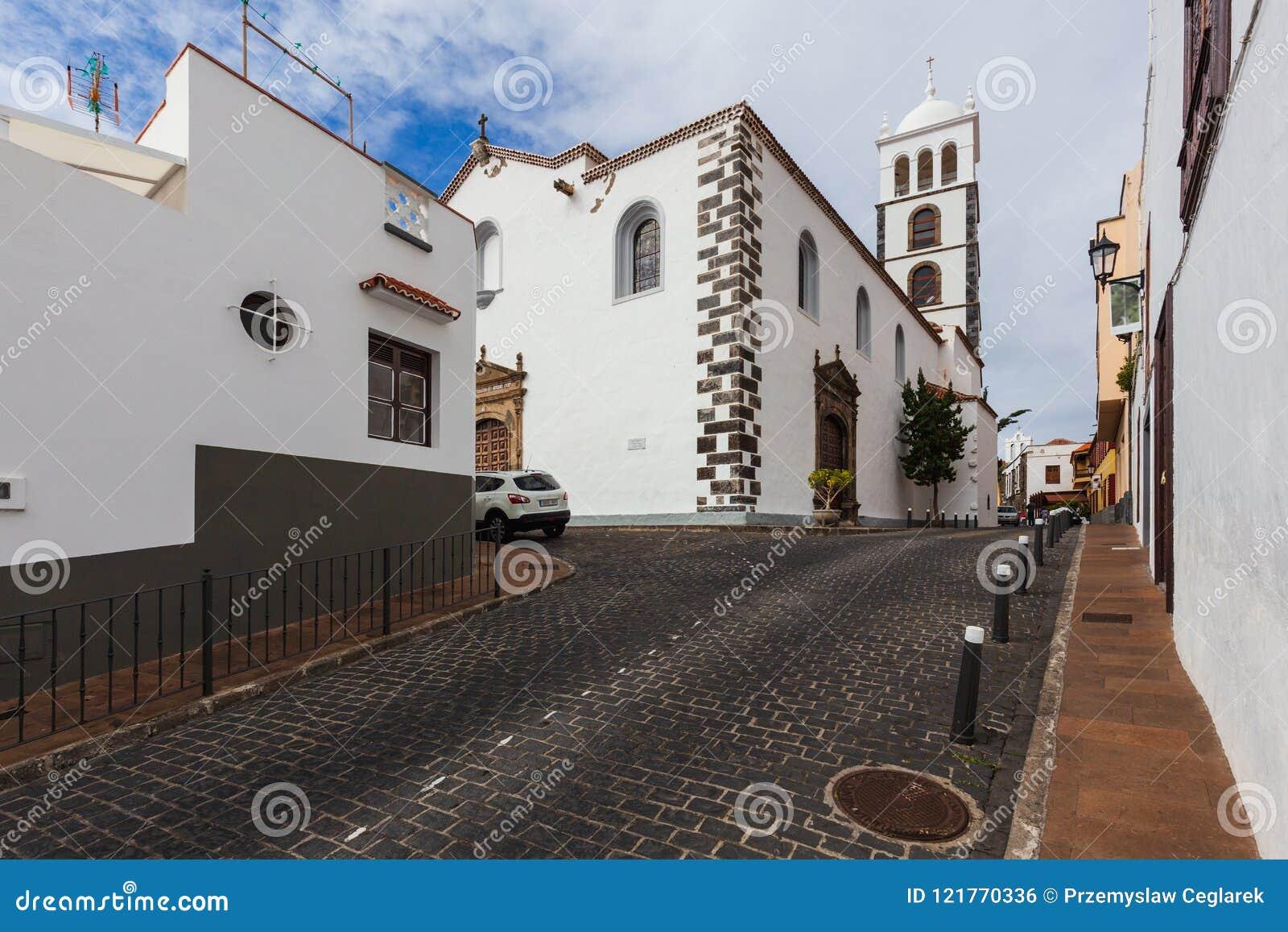 The architecture of Garachico village on Tenerife