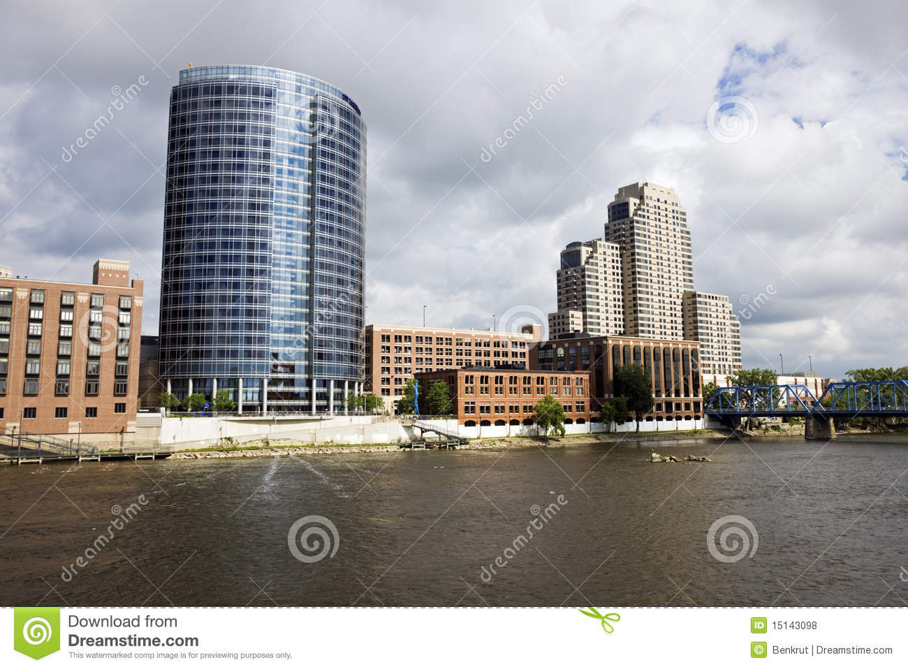 Architecture Of Grand Rapids Royalty Free Stock Photos