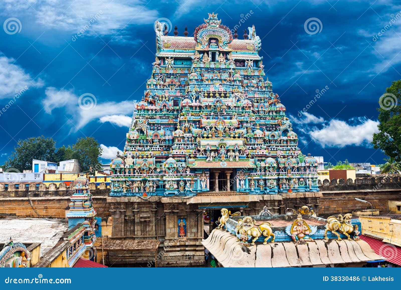 Architecture indienne temple de sri ranganathaswamy image for Architecture indienne