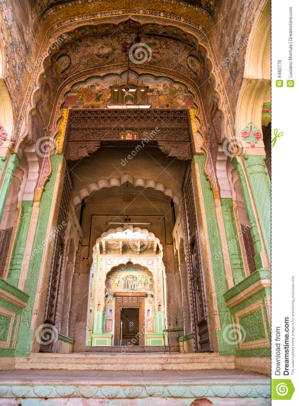 Architecture Indienne Type Inde Photo Stock Image Du