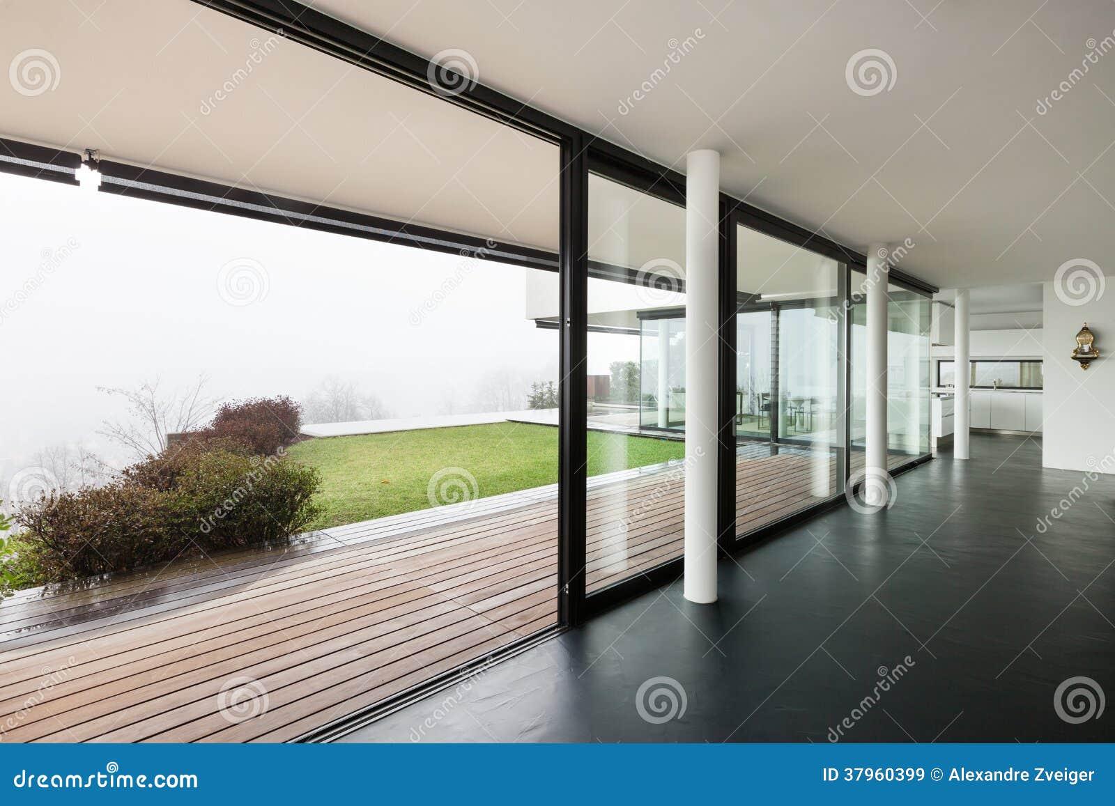 Architecture, Intérieur D\'une Villa Moderne Images libres de ...