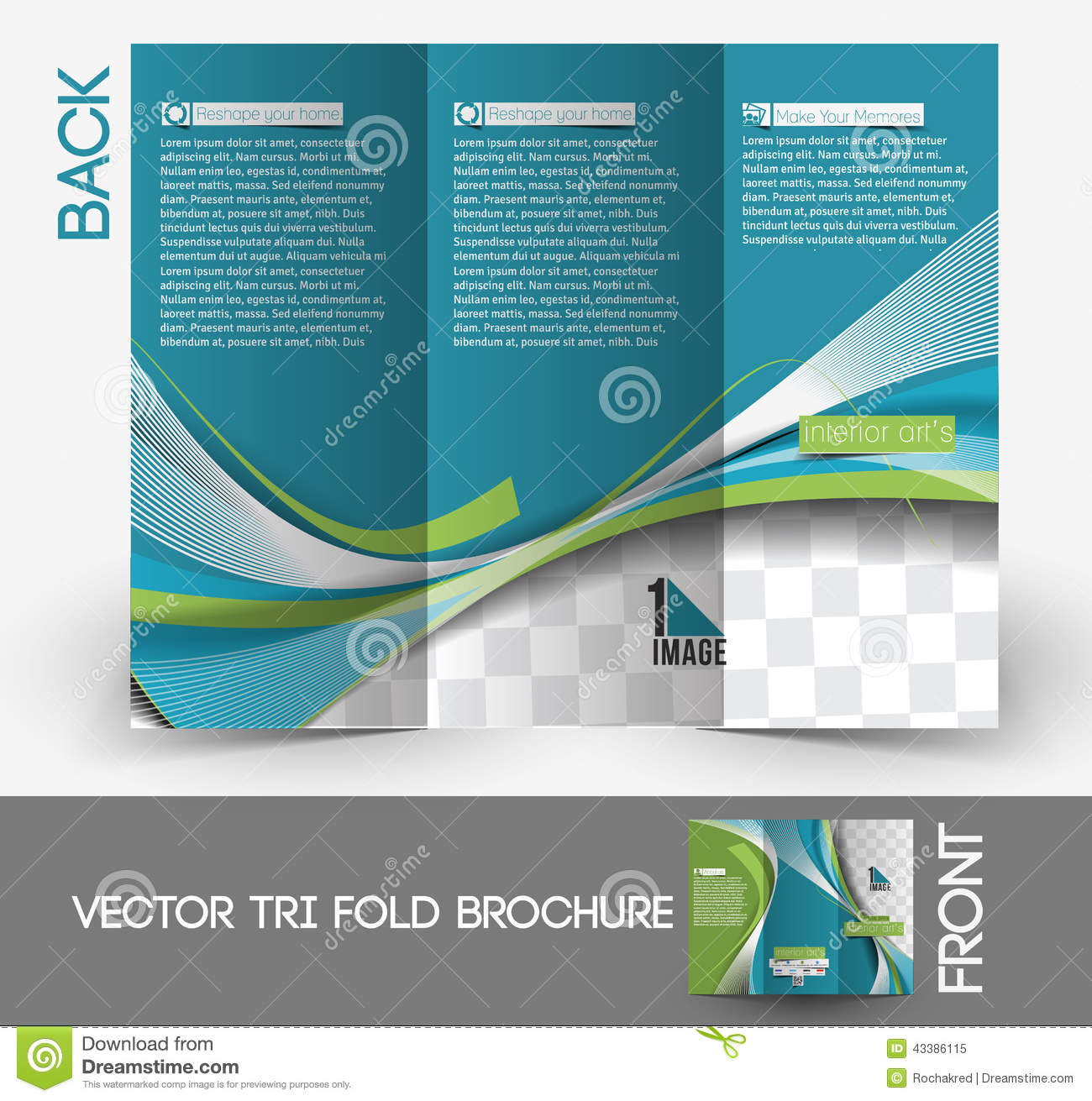 Architecture Brochure Design Designer Fold Interior
