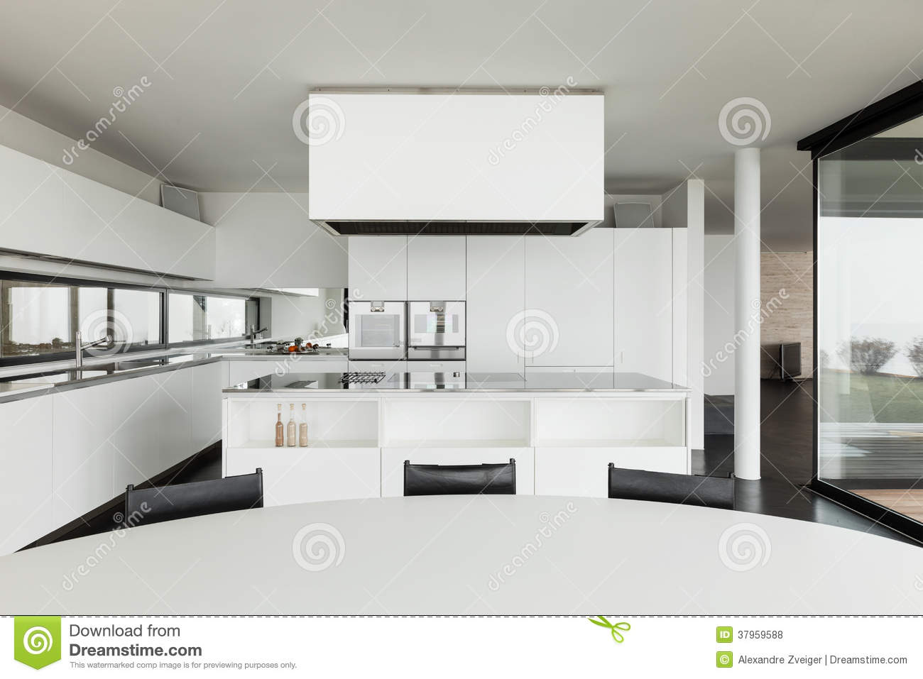 Architecture int rieur d 39 une villa moderne photos libres for Interieur villa moderne