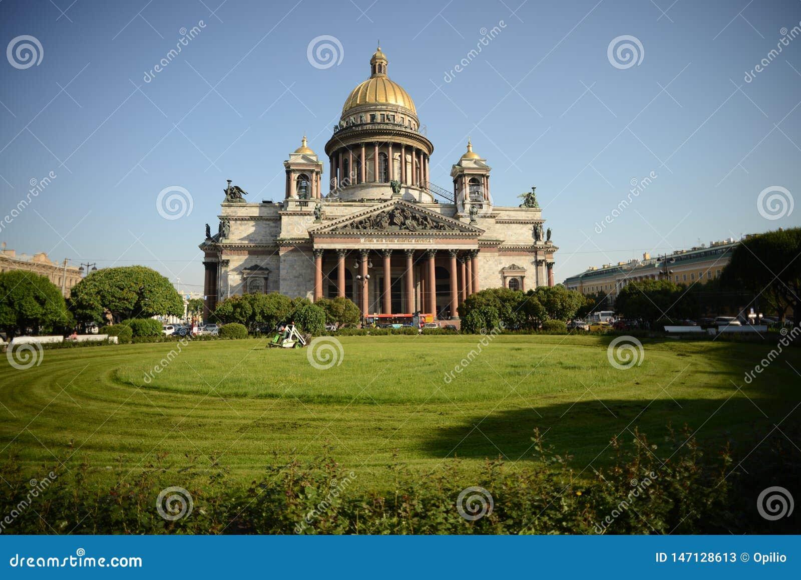 Saint Petersburg Saint Isaac`s Cathedral Isaakievskiy Sobor