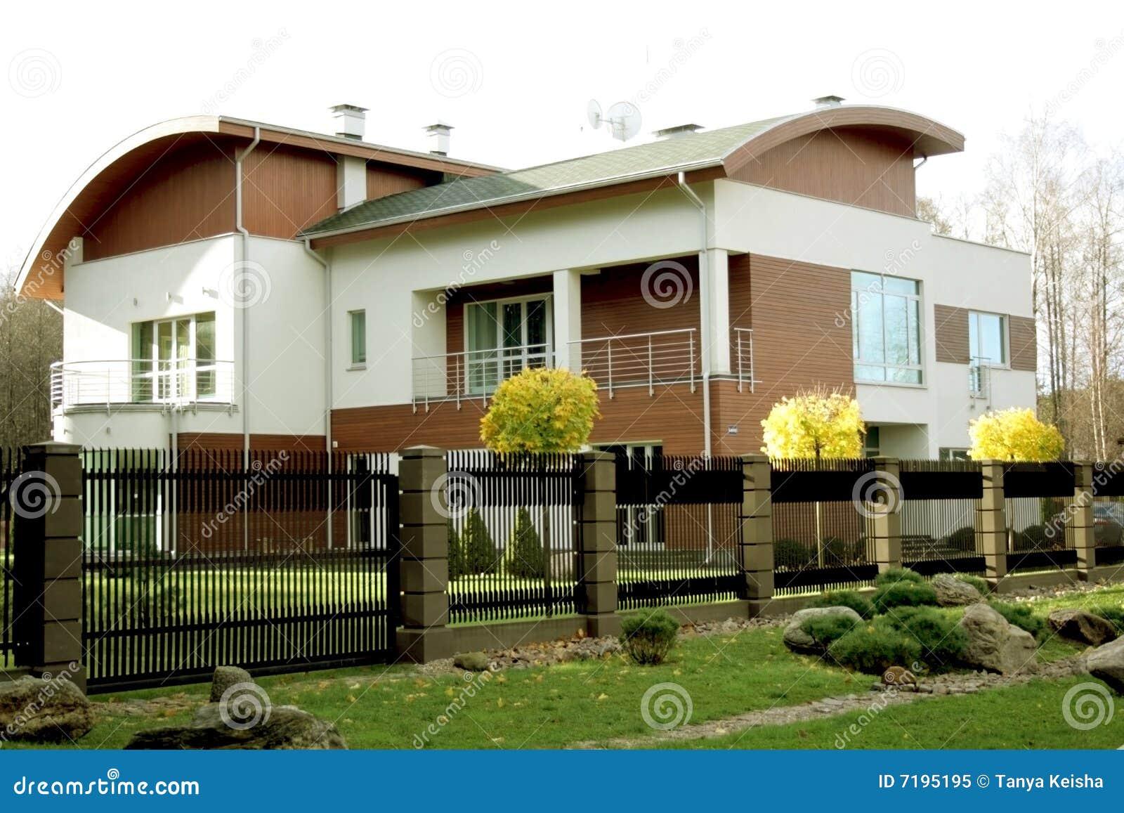 rchitecture la maison moderne neuve photo libre de droits architecture de - Maison Moderne Architecte