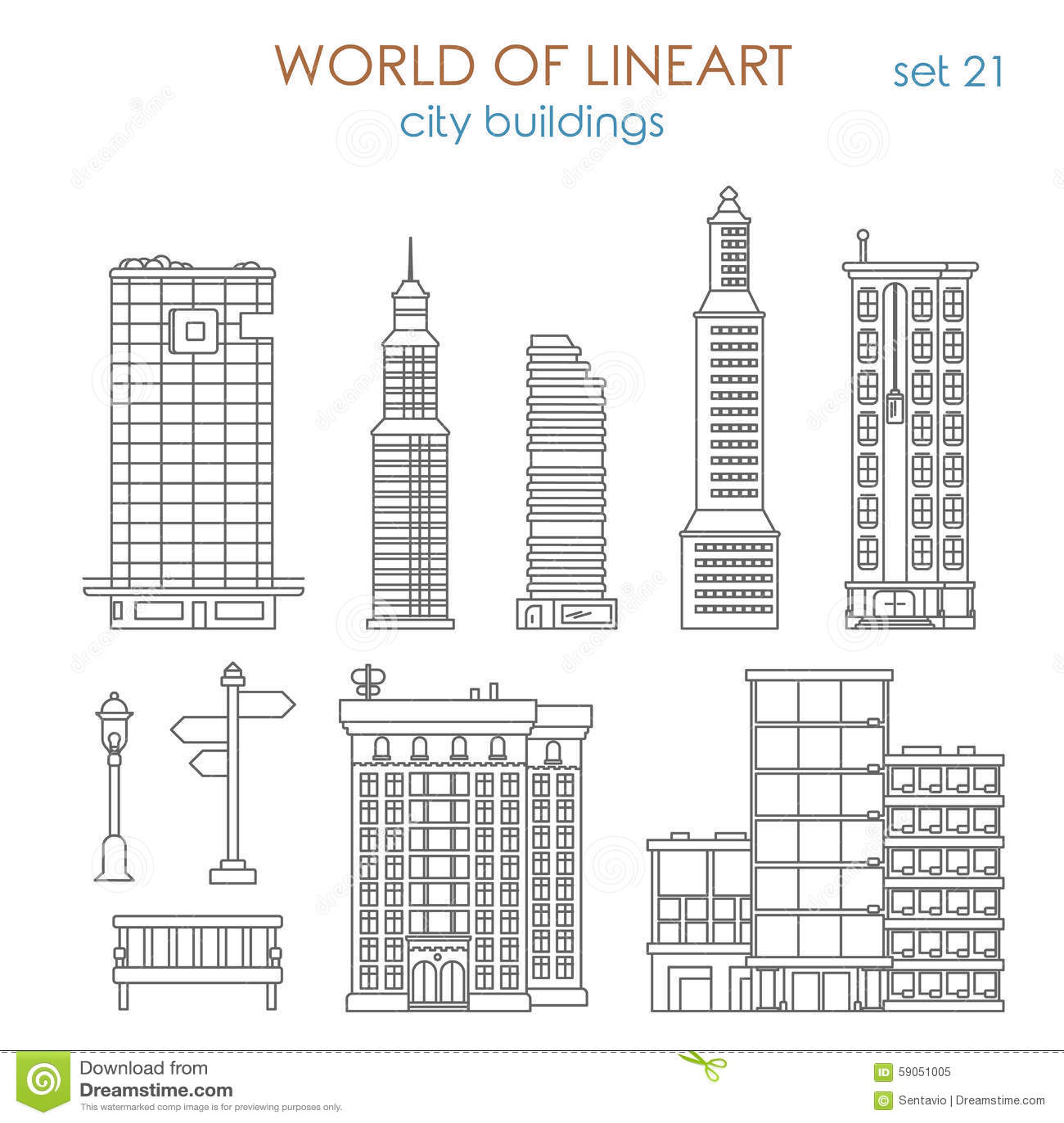 Line Art Building : Architecture lineart vector city public municipal mall