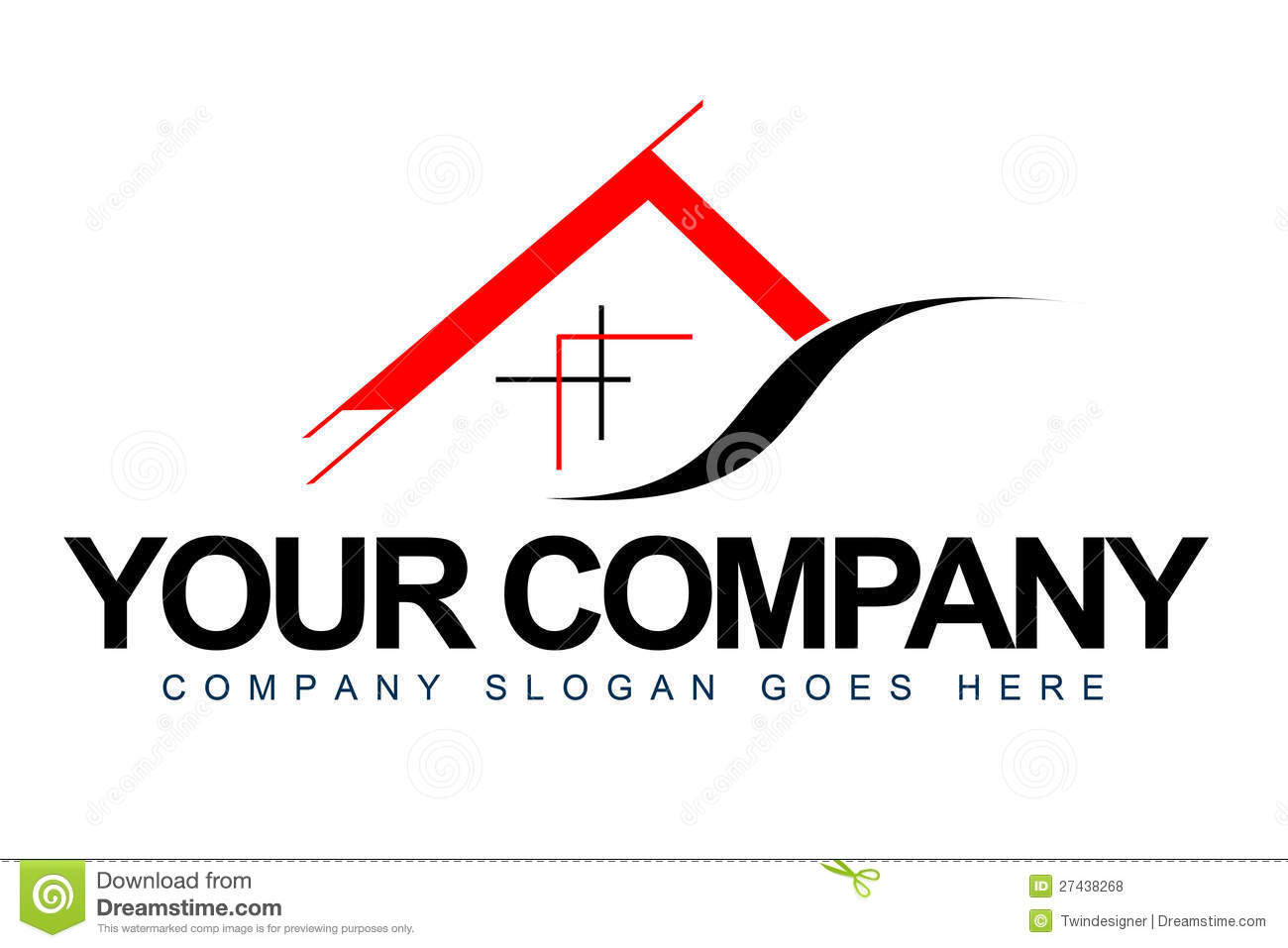 Download Architecture Logo stock illustration. Illustration of chalet - 27438268