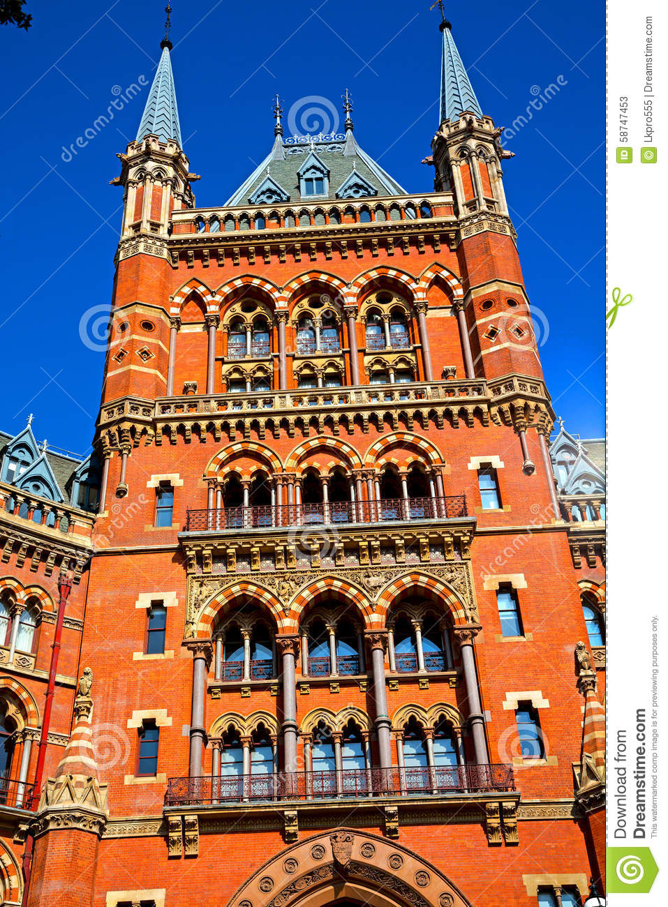 architecture in london d brick exterior wall stock image image of background building 58747453