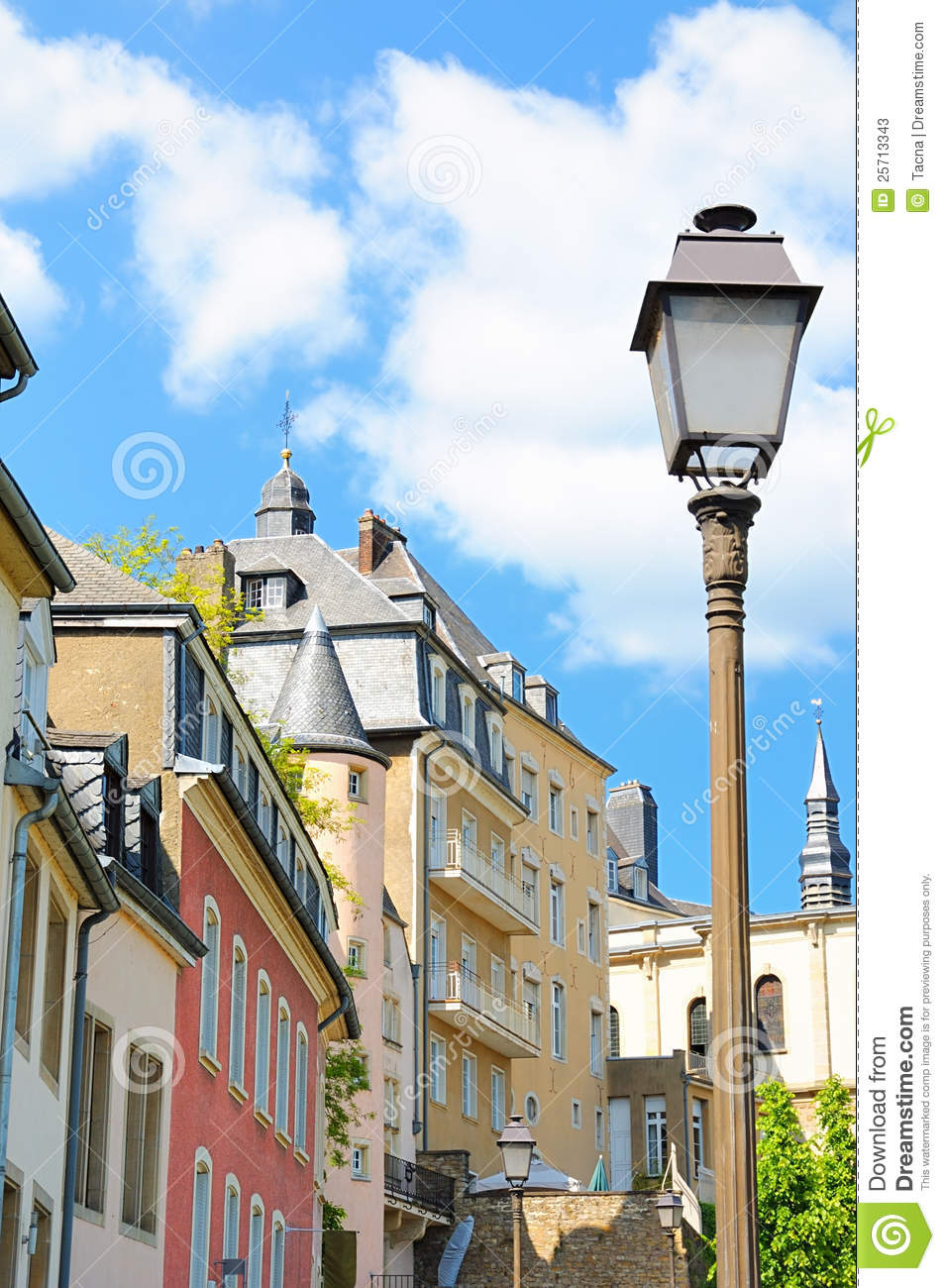 Architecture Of Luxembourg Stock Photos - Image: 25713343