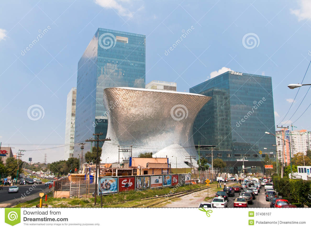 Architecture In Mexico City Editorial Photography Image