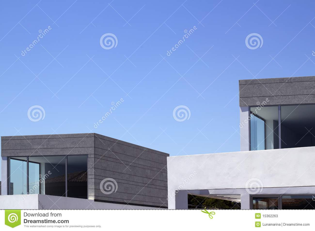 Architecture Modern Houses Crop Details Stock Photos