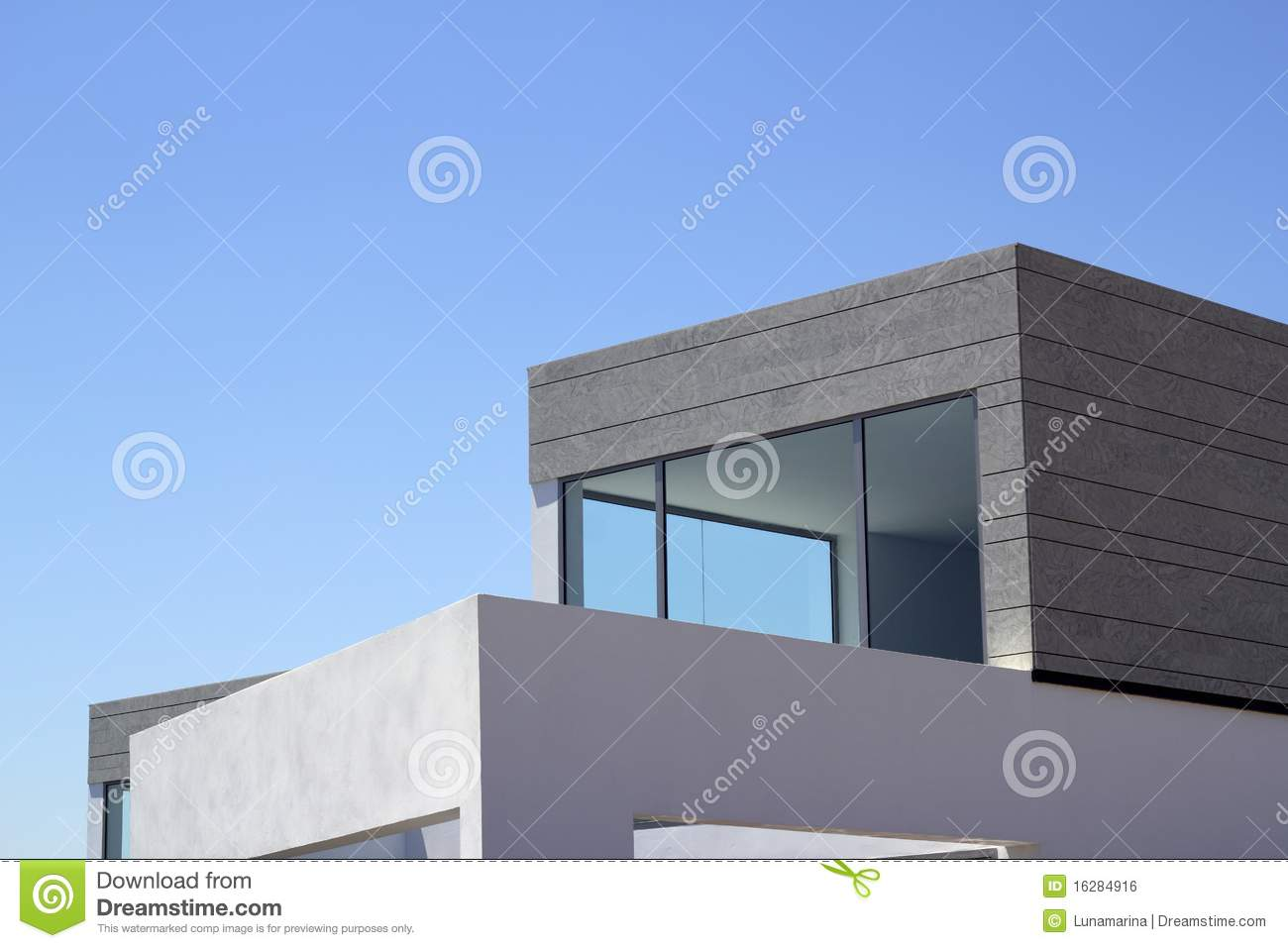 Architecture Modern Houses Crop Details Royalty Free Stock