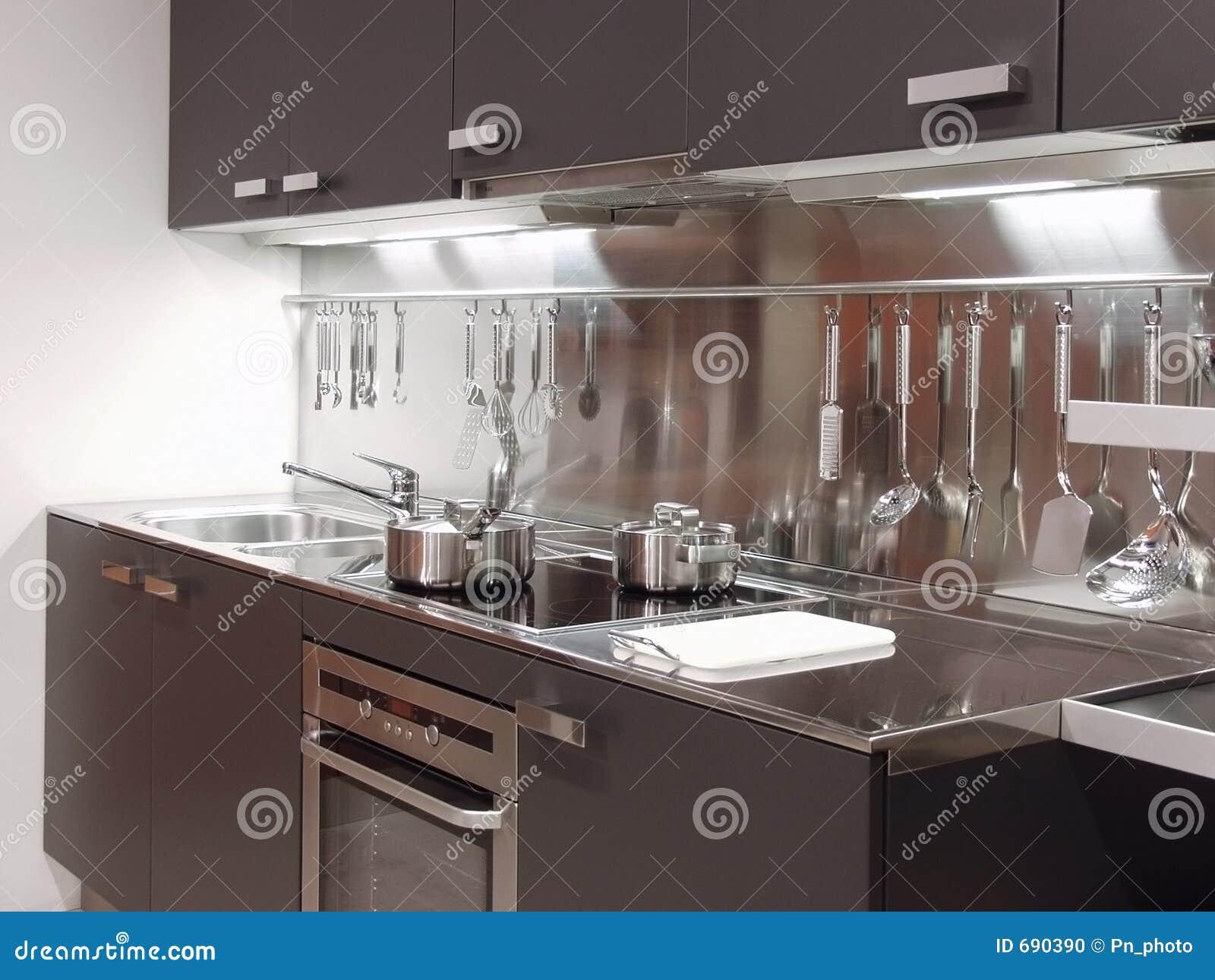 architecture moderne 04 de cuisine photo stock image 690390. Black Bedroom Furniture Sets. Home Design Ideas