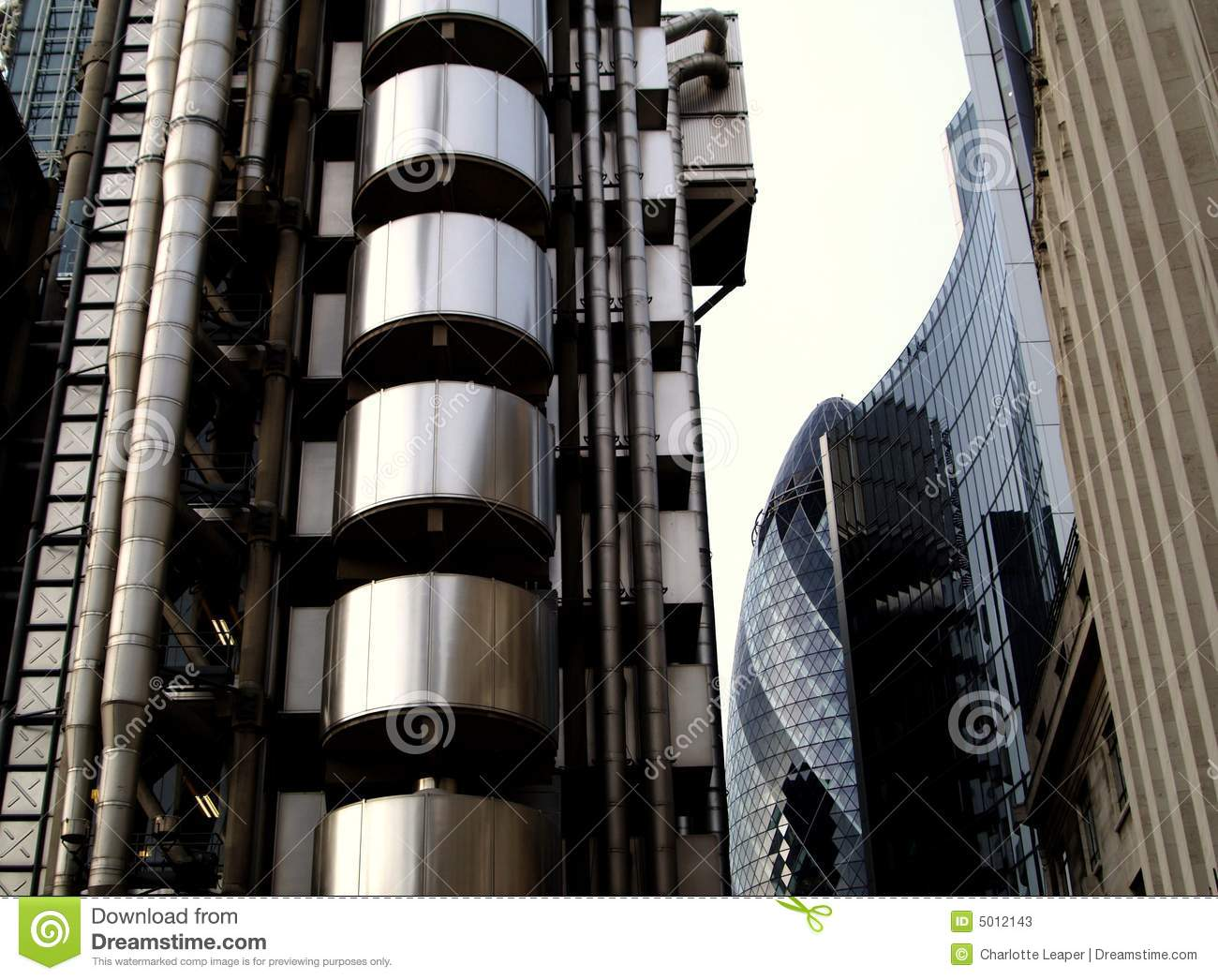 Architecture moderne de londres image stock image 5012143 for Architecture londres