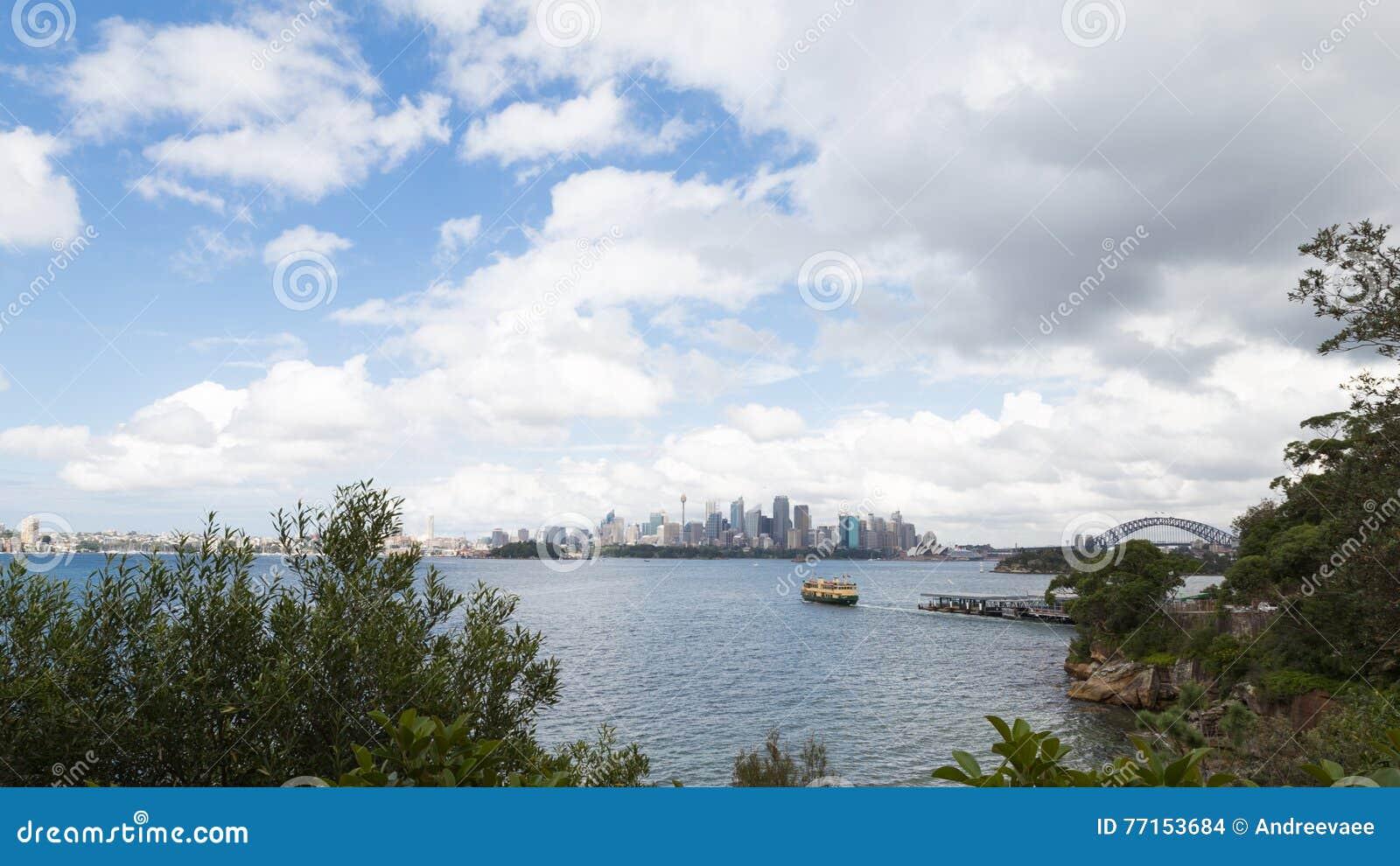 Architecture moderne de Sydney