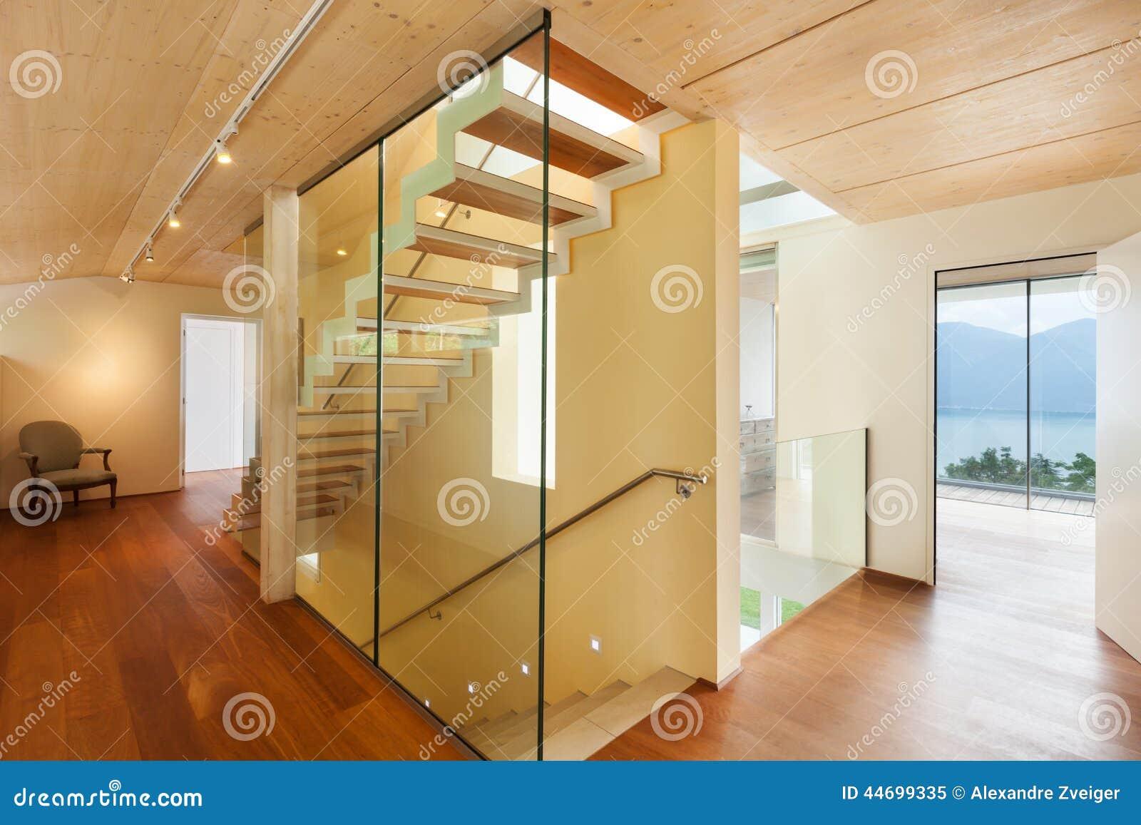 Architecture Moderne, Intérieur, Escalier Photo stock - Image ...