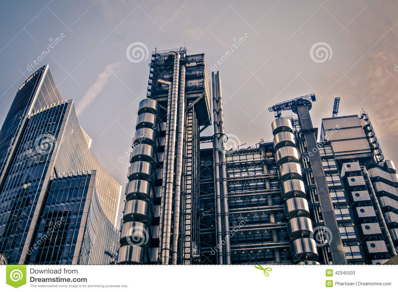 Architecture moderne londres angleterre photo stock for Architecture londres
