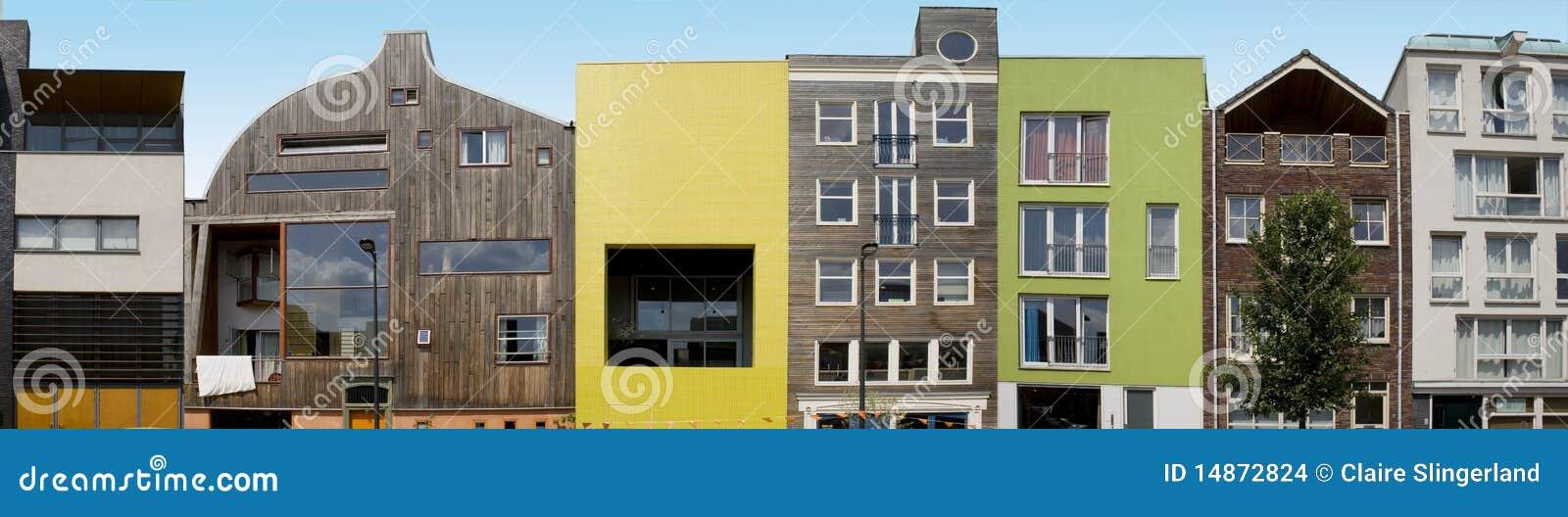 Architecture Moderne Sur Ijburg Amsterdam Photo Stock