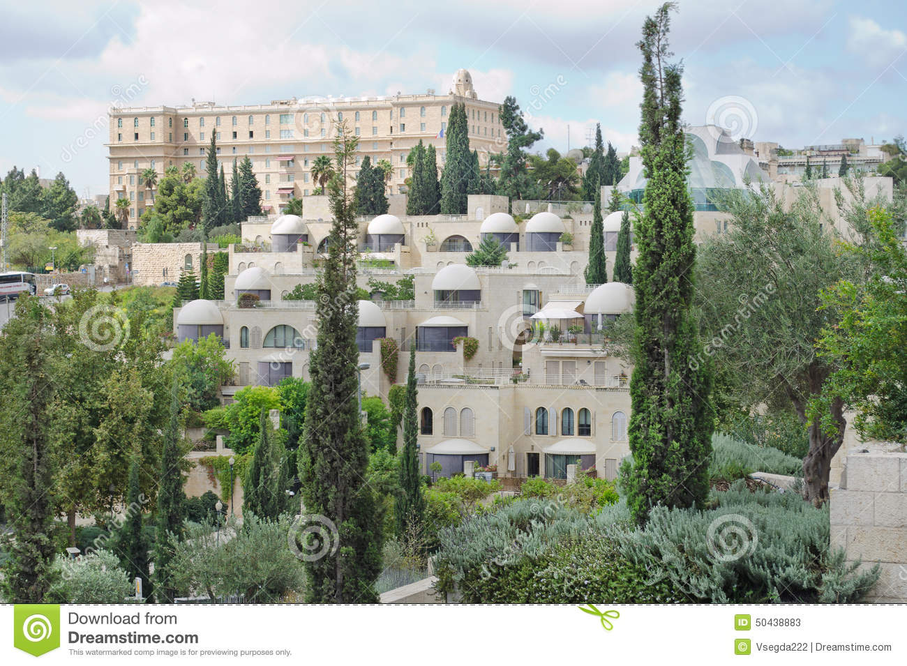 Architecture and nature of the city of bethlehem stock Architecture nature