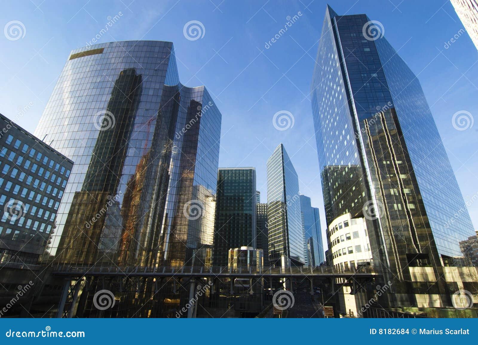 Architecture Paris Moderne Images Stock Image 8182684