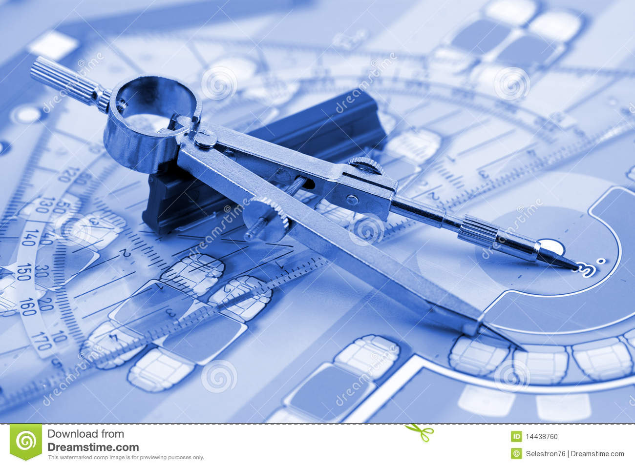 architecture plan work tools stock photo image  architecture plan work tools