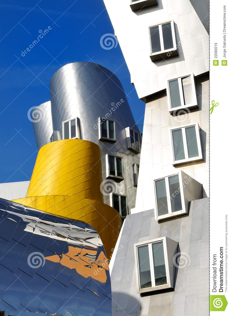 Architecture Post Moderne Image Stock Ditorial Image