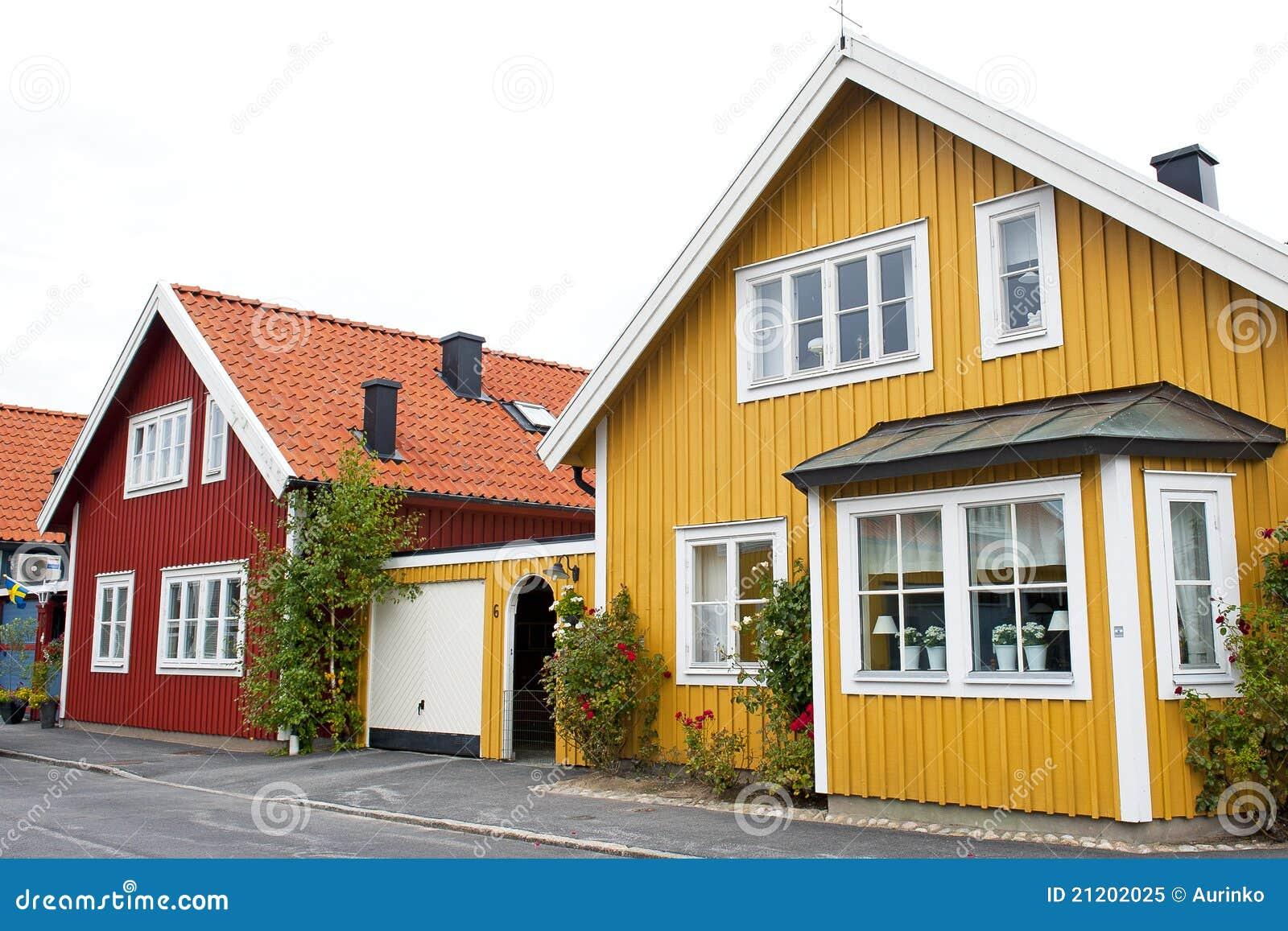 Architecture scandinave photo libre de droits image for Architecture traditionnelle scandinave