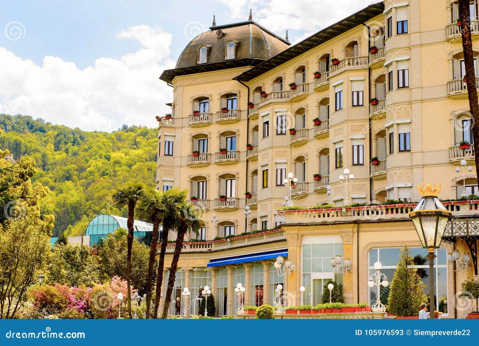 Grand Hotel Bristol Stresa Italy