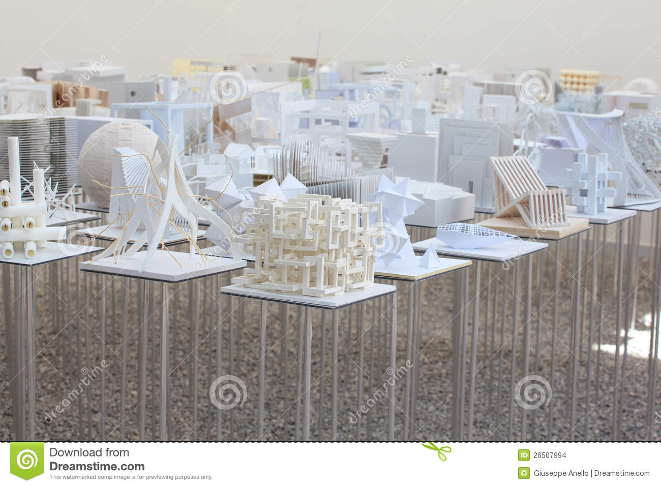 Architecture student models editorial stock image image for Architecture student