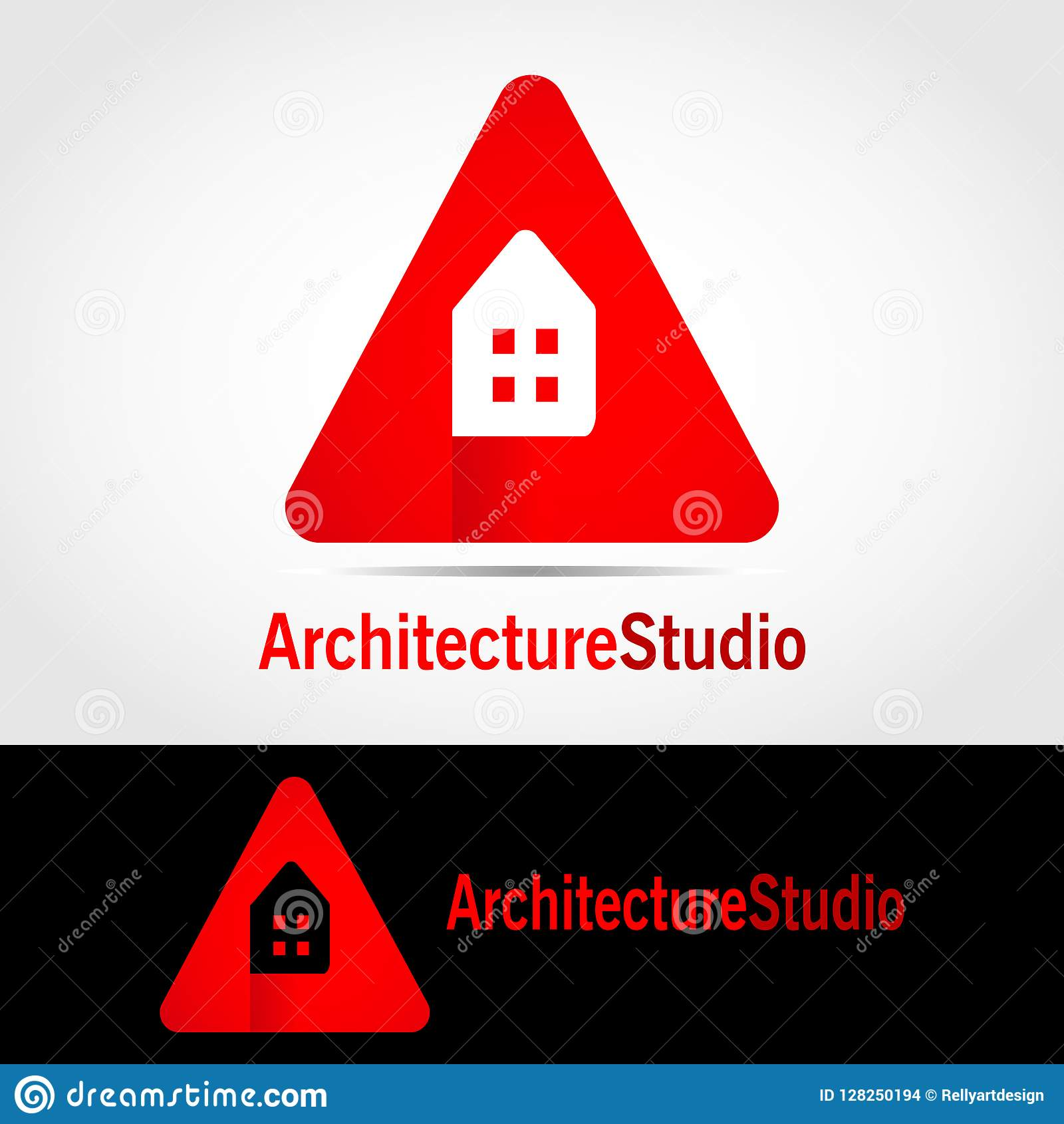 Architecture Studio Logo 2 Stock Illustration Illustration Of Icon