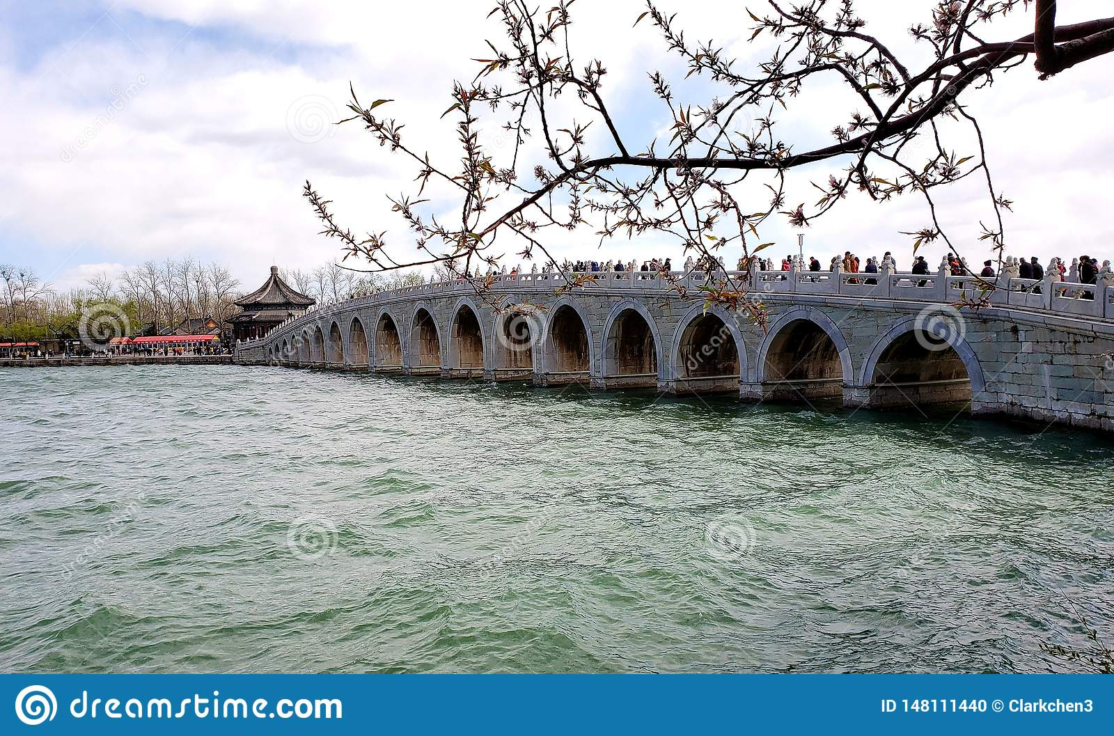 Architecture of the Summer Palace Beijing China