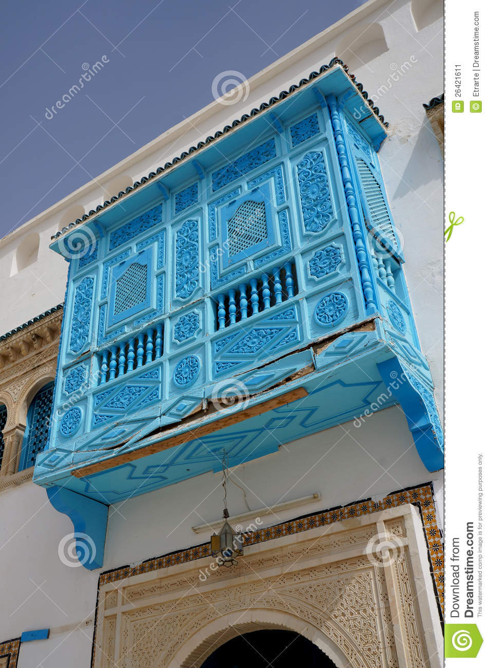 architecture tunisienne traditionnelle image stock image