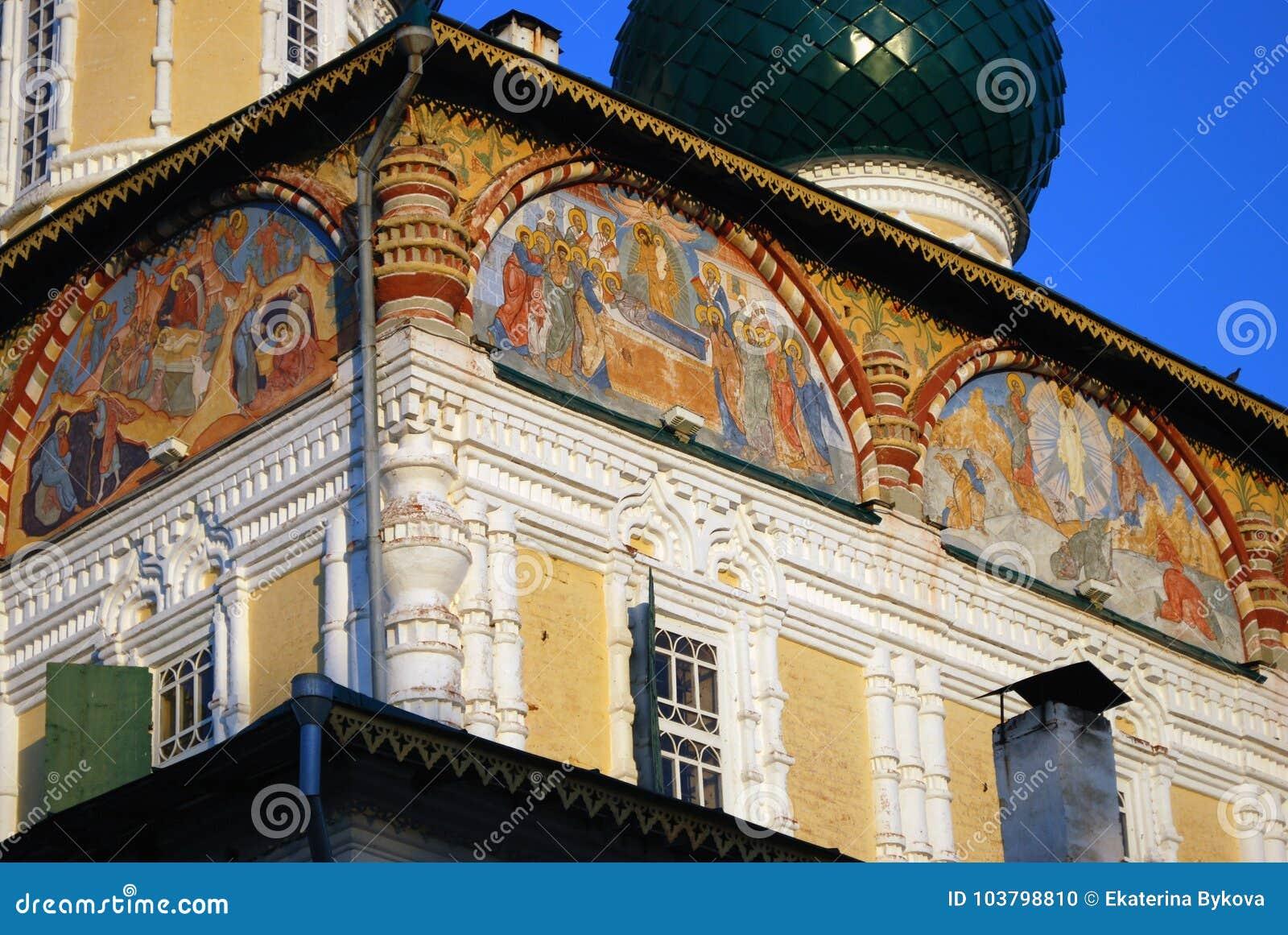 Resurrection Cathedral Tutaev: photos, address and history 50