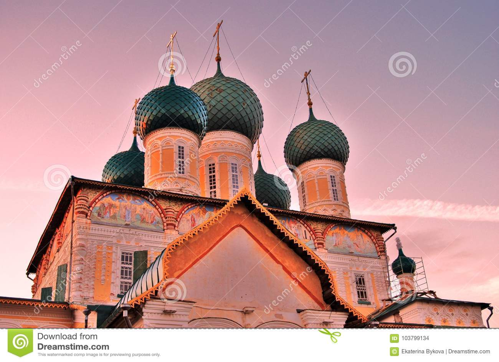 Resurrection Cathedral Tutaev: photos, address and history 17
