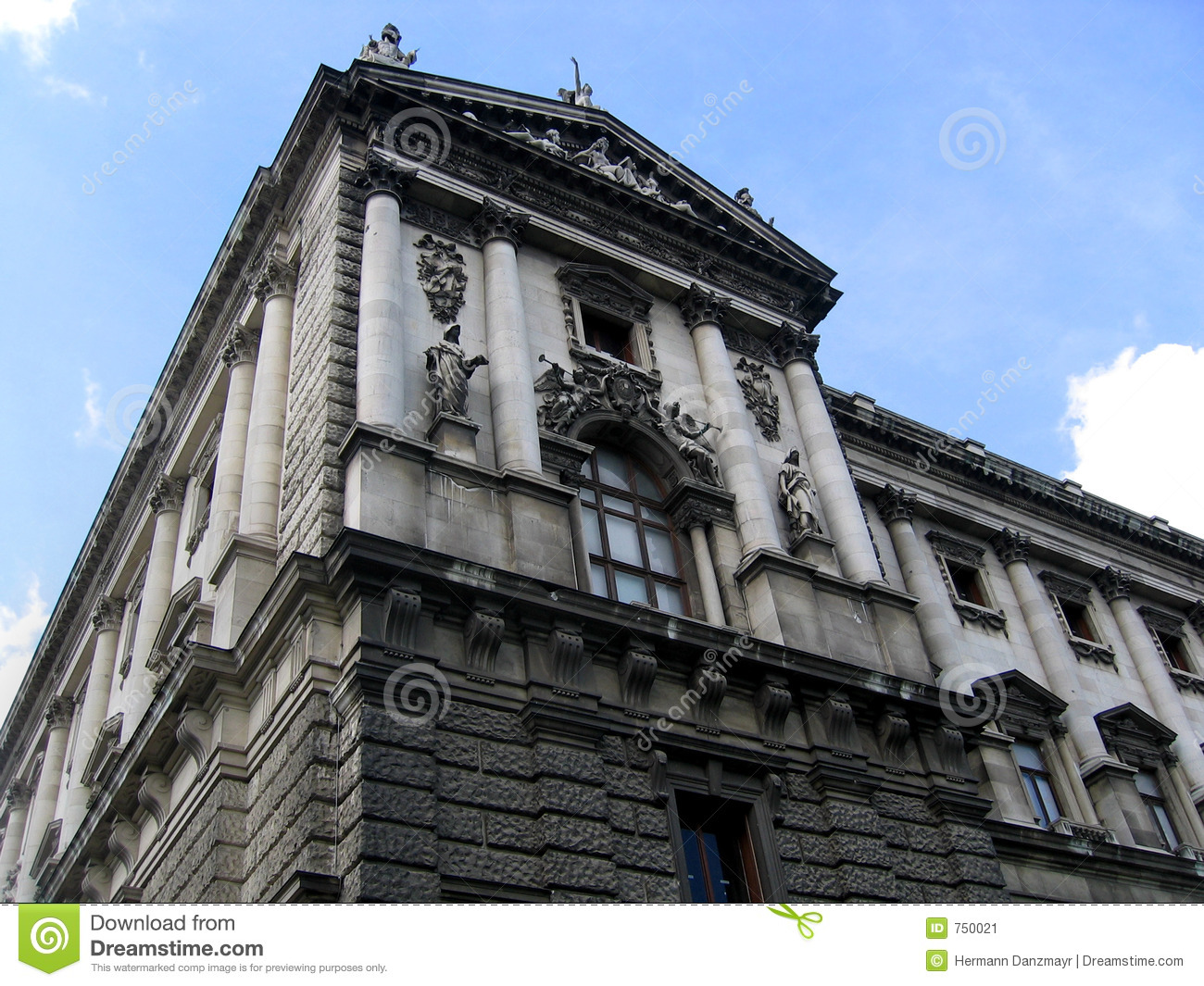 Architecture in vienna stock image image 750021 for Architecture vienne