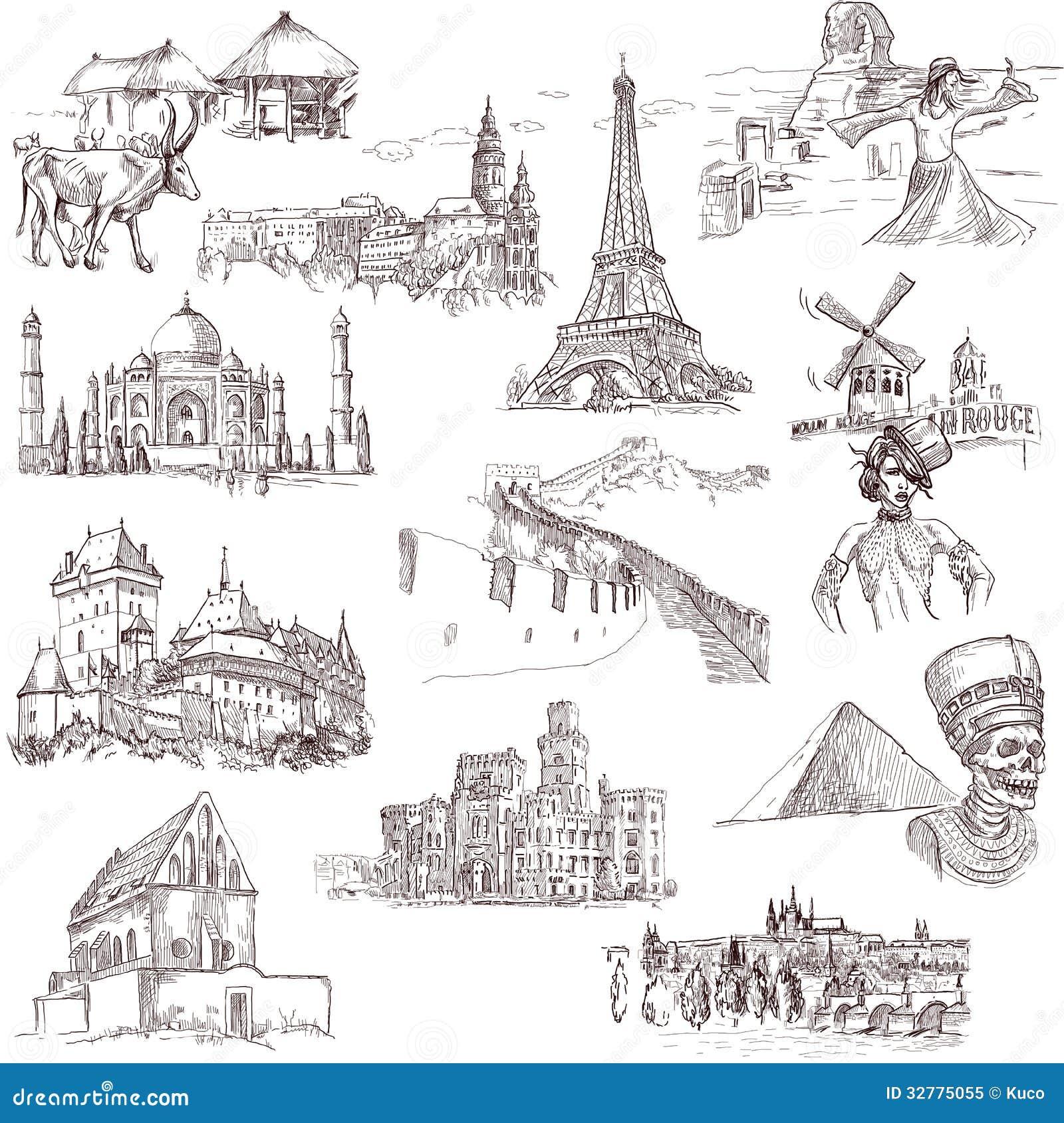 Architectuur en plaatsen 1
