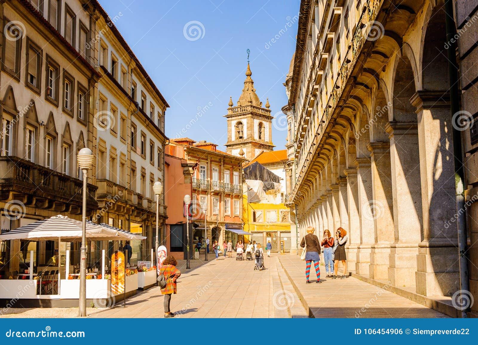 Architectuur van Braga, Portugal