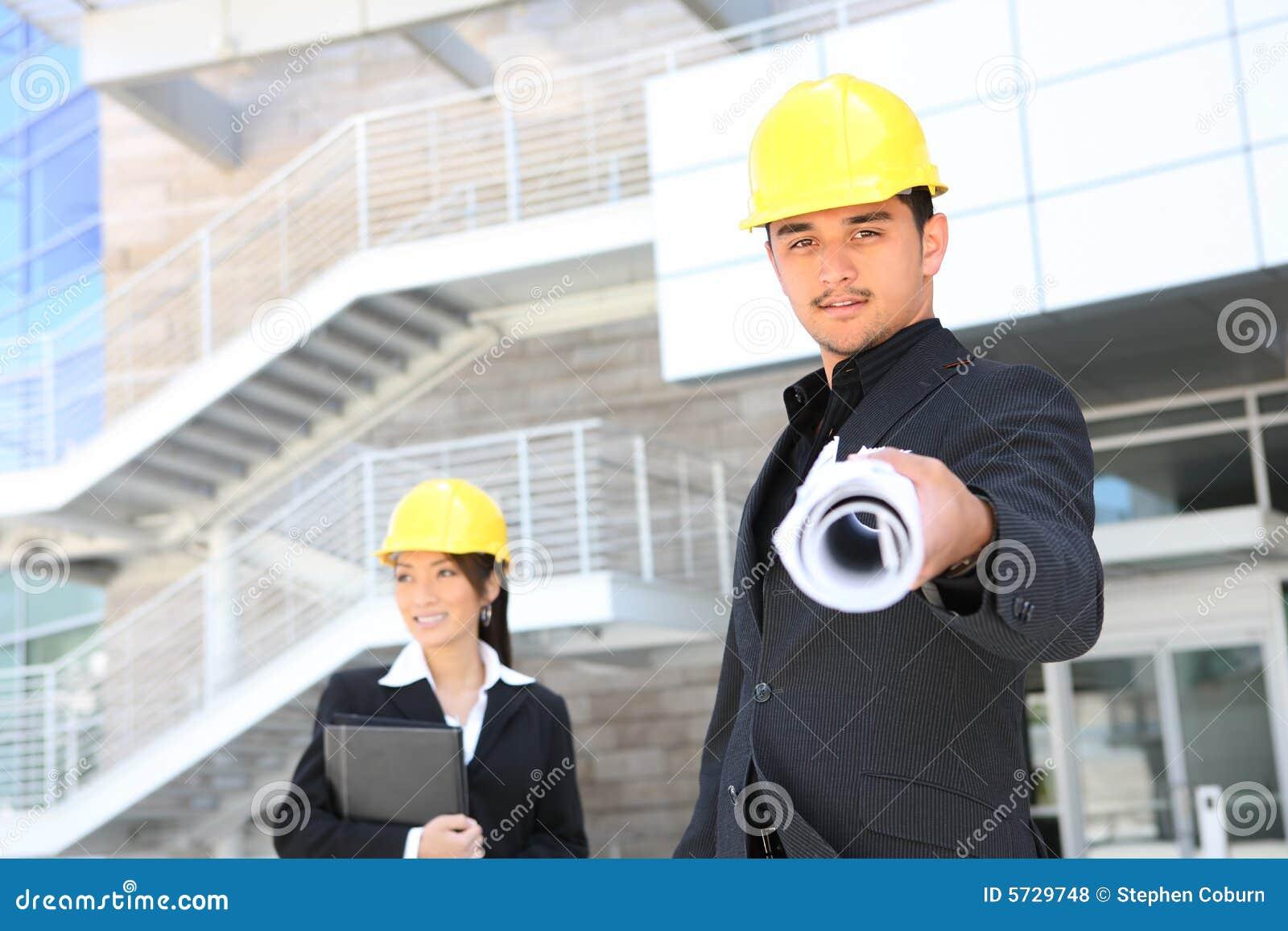 Architekci buduje budowy