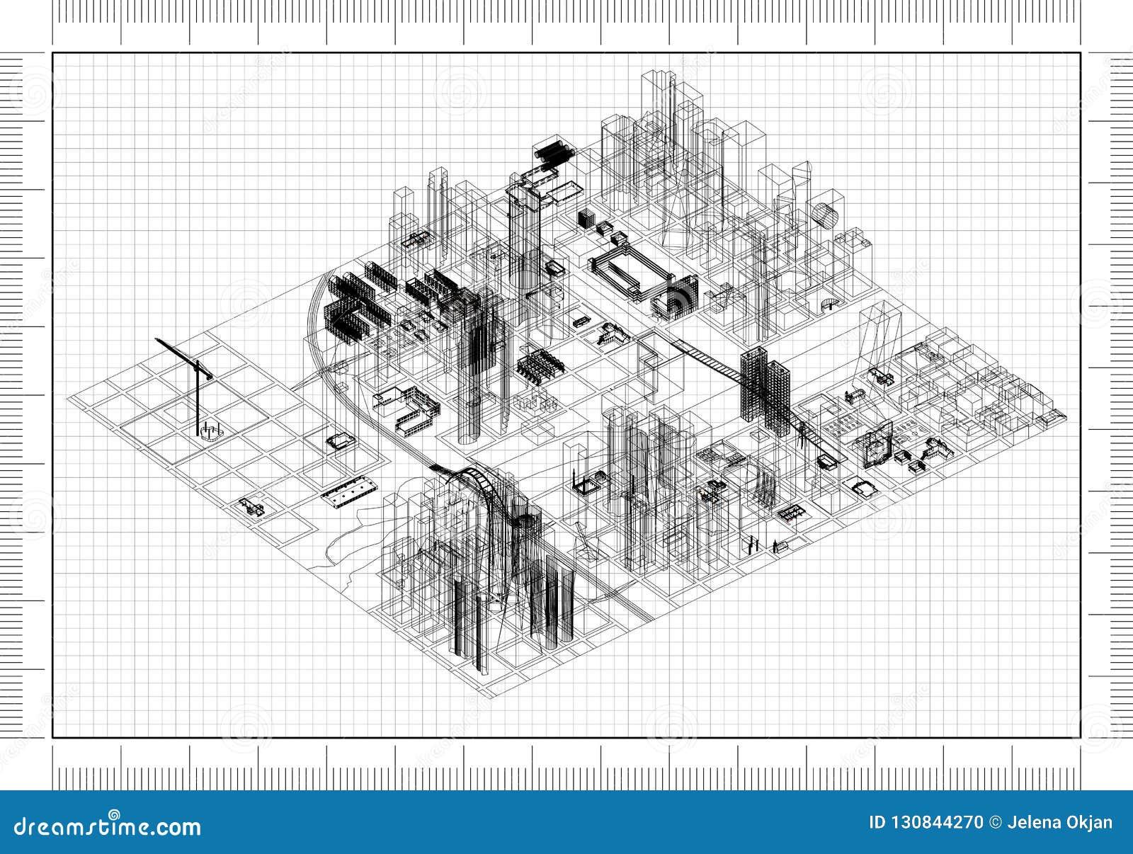 Architekt Blueprint