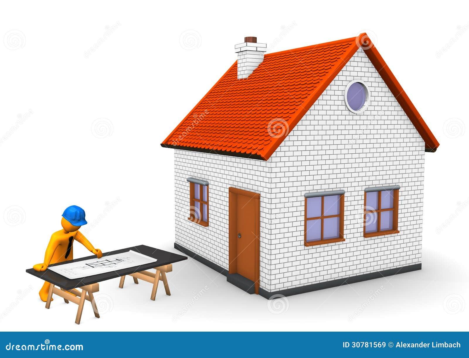 Architekt house lizenzfreie stockbilder bild 30781569