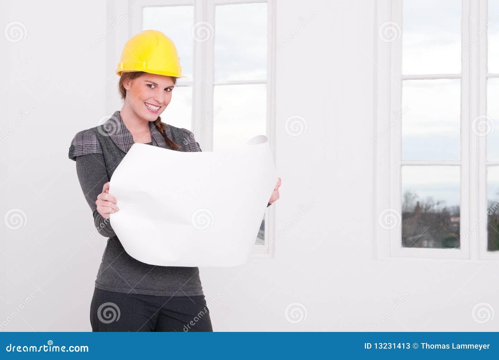 Architekt kobieta